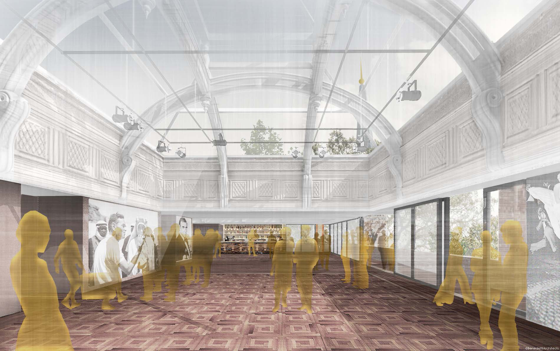 The new top floor with revived roof light spaces| BAFTA headquarters at 195 Piccadilly| Benedetti Architects| STIR