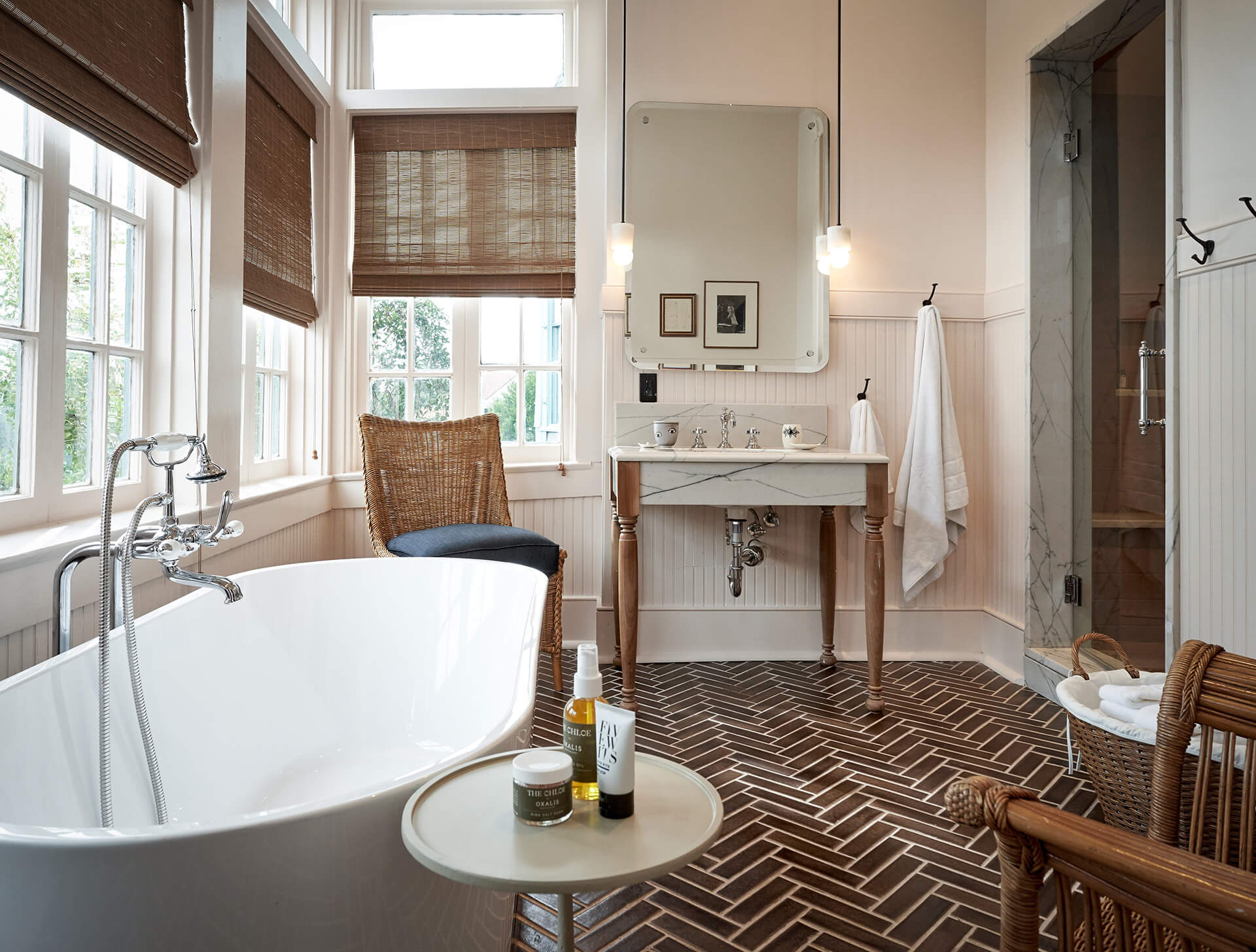 A light filled bathroom | The Chloe designed by Sara Costello | STIRworld