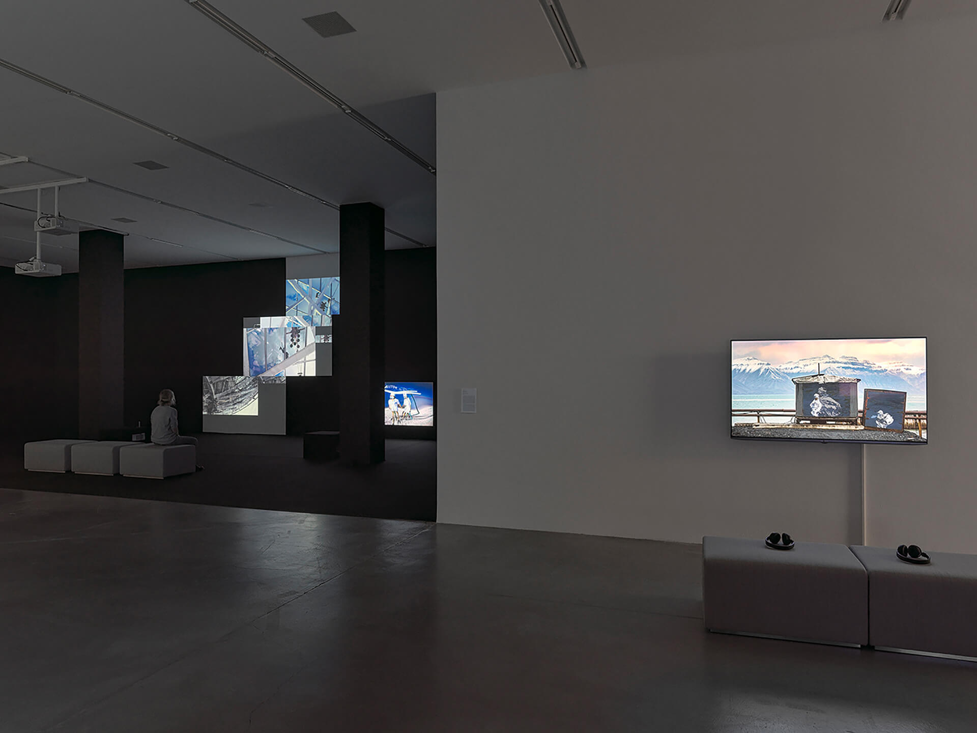 Almagul Menlibayeva's Departure.Astana (2016-2020) and Himali Singh Soin's we are opposite like that (2019) at Migros Museum für Gegenwartskunst | Potential Worlds 1: Planetary Memories | Almagul Menlibayeva, Himali Singh Soin| STIRworld