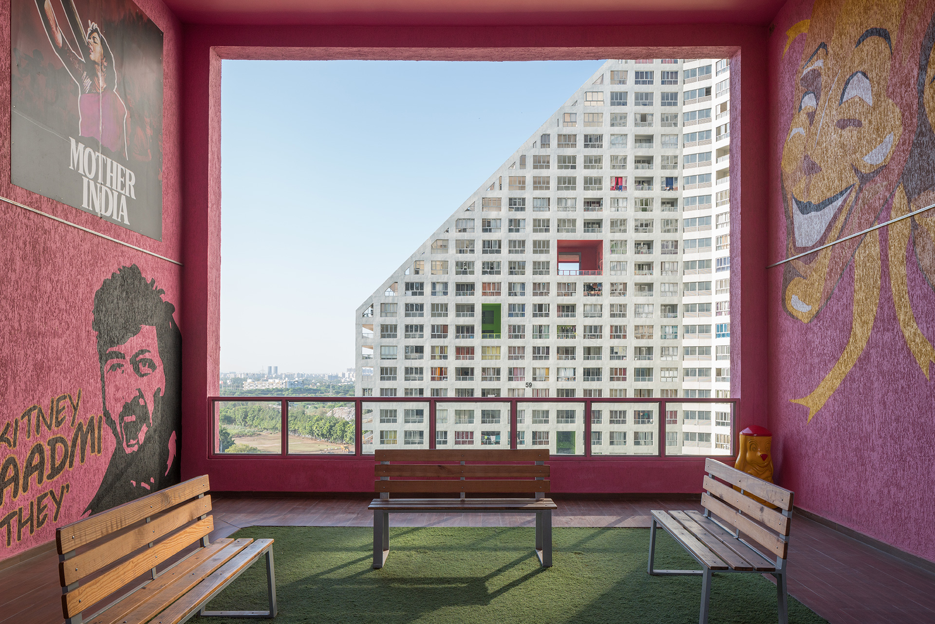 Community driven public spaces in the apartments| Future Towers| MVRDV| STIR
