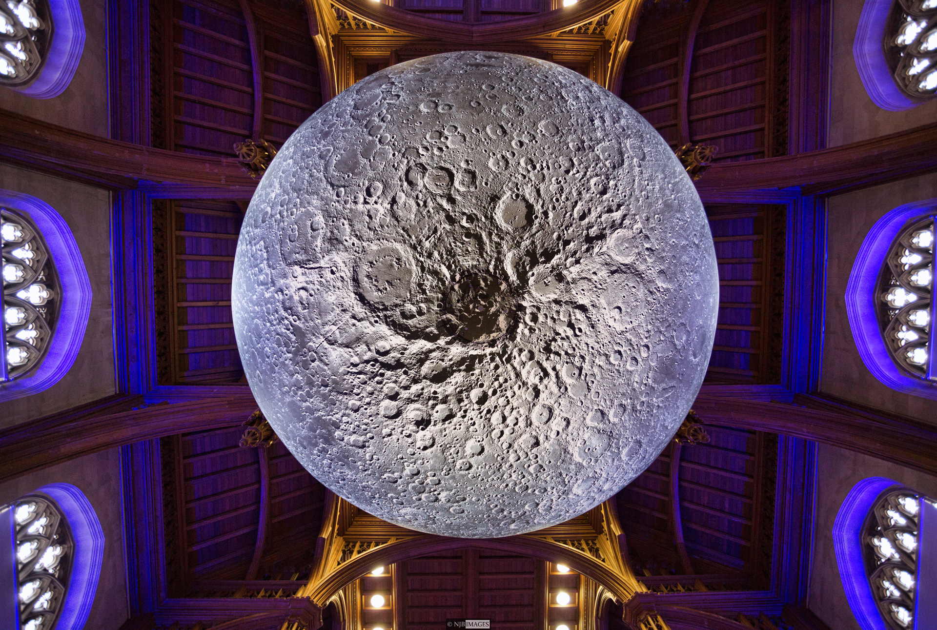 The touring artwork Museum of the Moon| Museum of the Moon| Luke Jerram| STIR