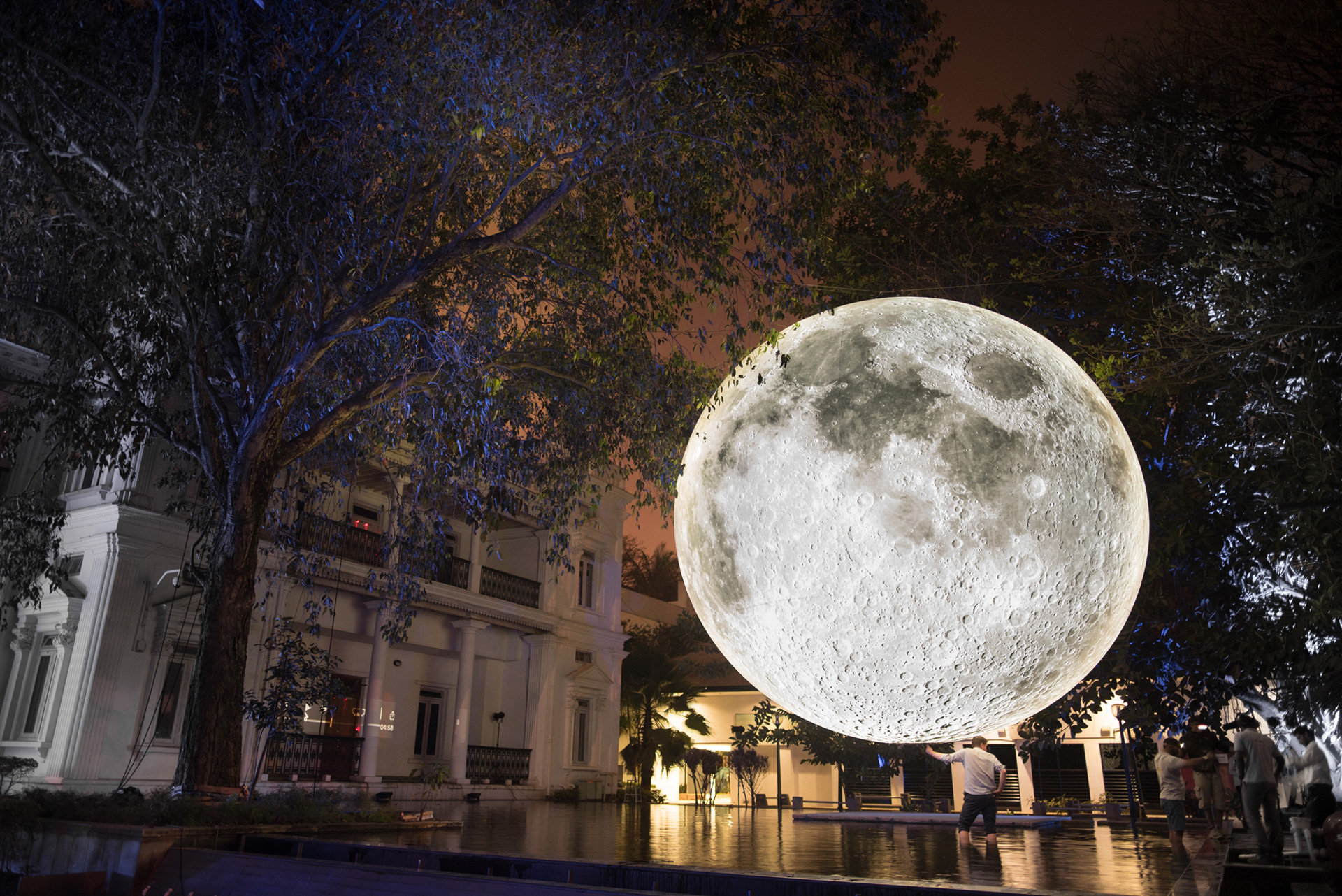 Museum of the Moon in Bengaluru, India, 2018| Museum of the Moon| Luke Jerram| STIR
