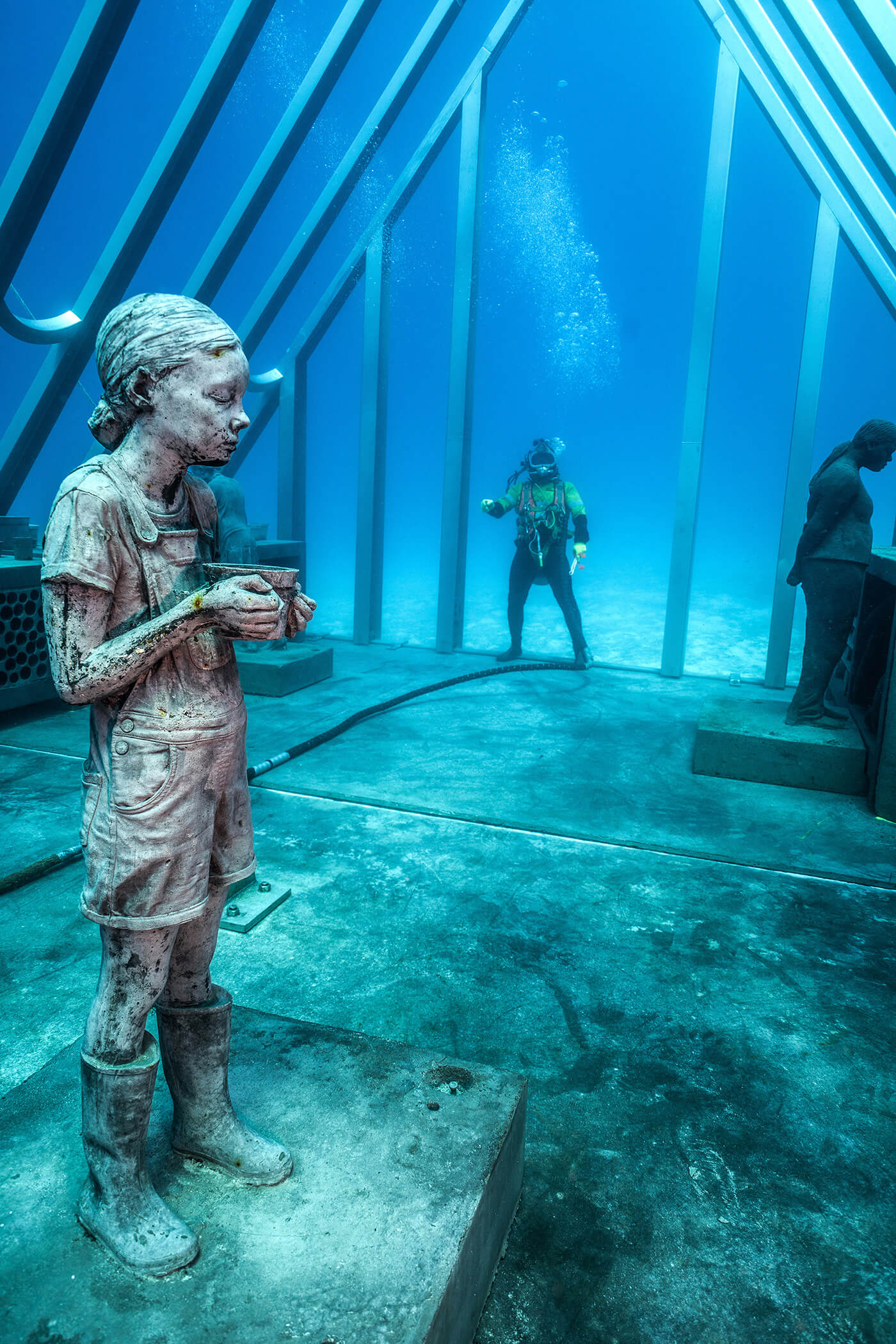 Glimpses of The Coral Greenhouse | Jason deCaires Taylor | STIRworld