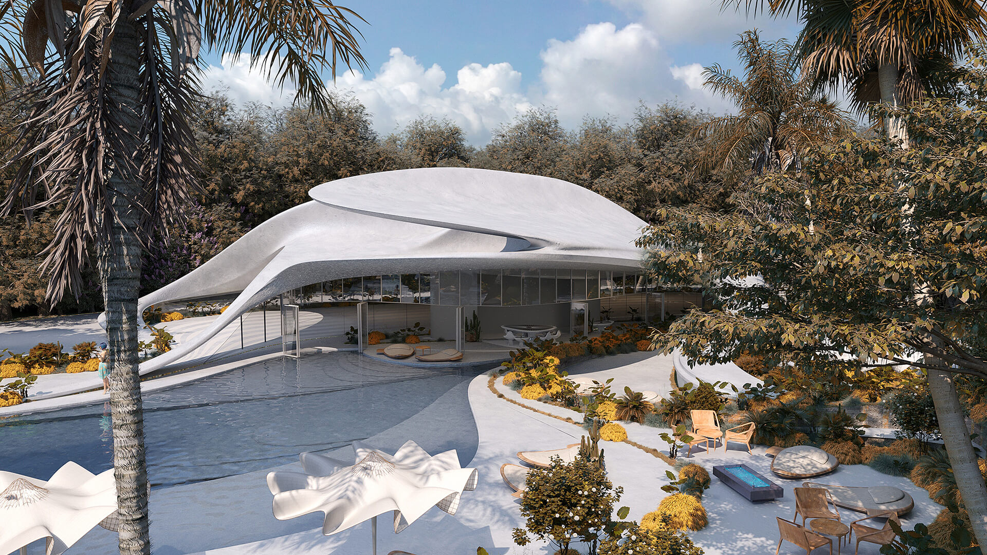 The design draws from Sardinia's architectural and geographical conditions | Villa G01 imagined by Mask Architects | STIRworld