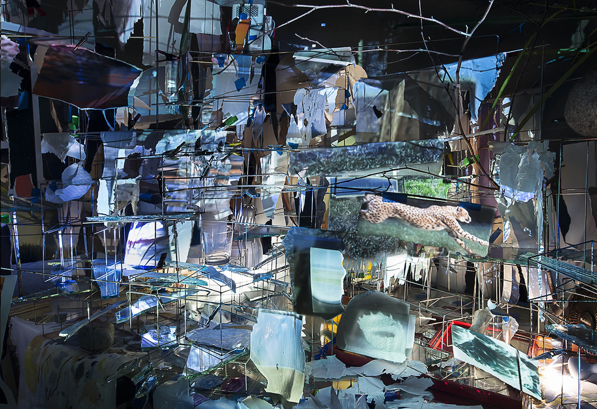 Images in Debris | Night into Day by Sarah Sze | STIRworld