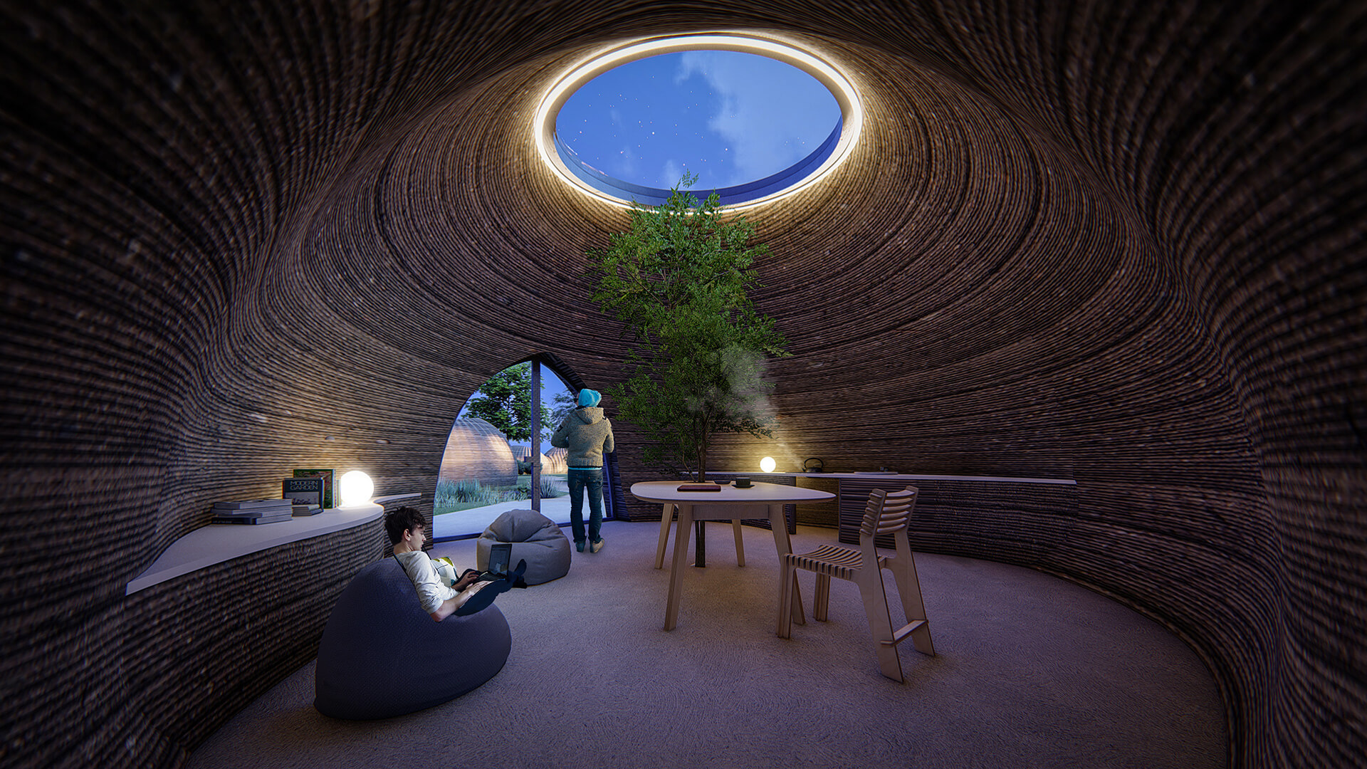 Spatial settings that respond to the needs of the future | TECLA by WASP and Mario Cucinella Architects | STIRworld