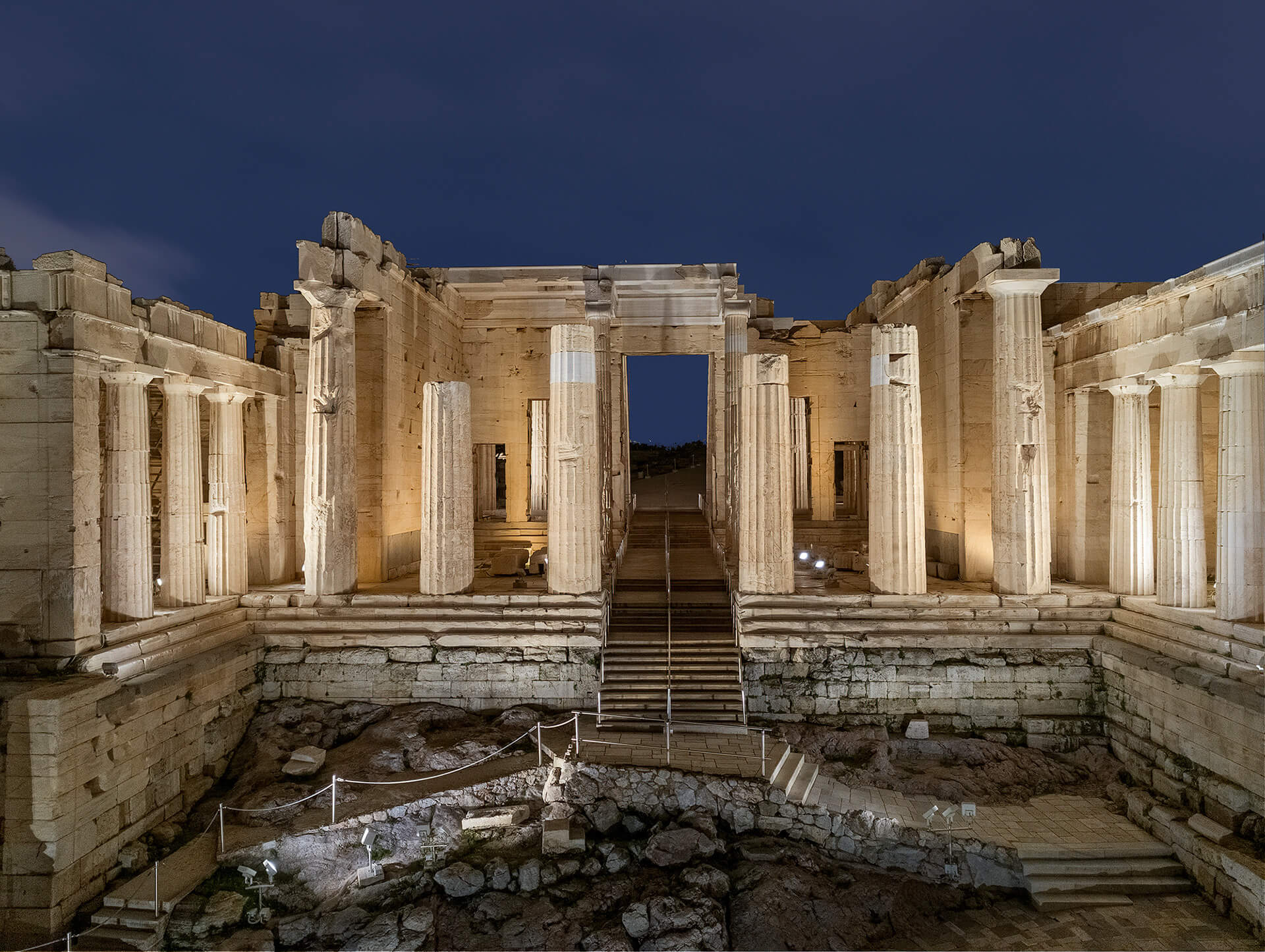 What is truly remarkable is the prominence the structures have maintained since the fifth century into our present time | Acropolis of Athens by Onassis Foundation | Eleftheria Deko | STIRworld