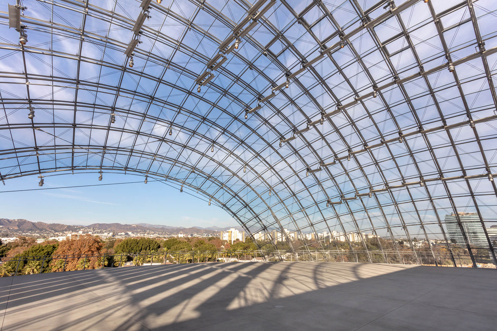 Glass rooftop on the new spherical building | Academy Museum of Motion Pictures | Renzo Piano Building Workshop | STIRworld