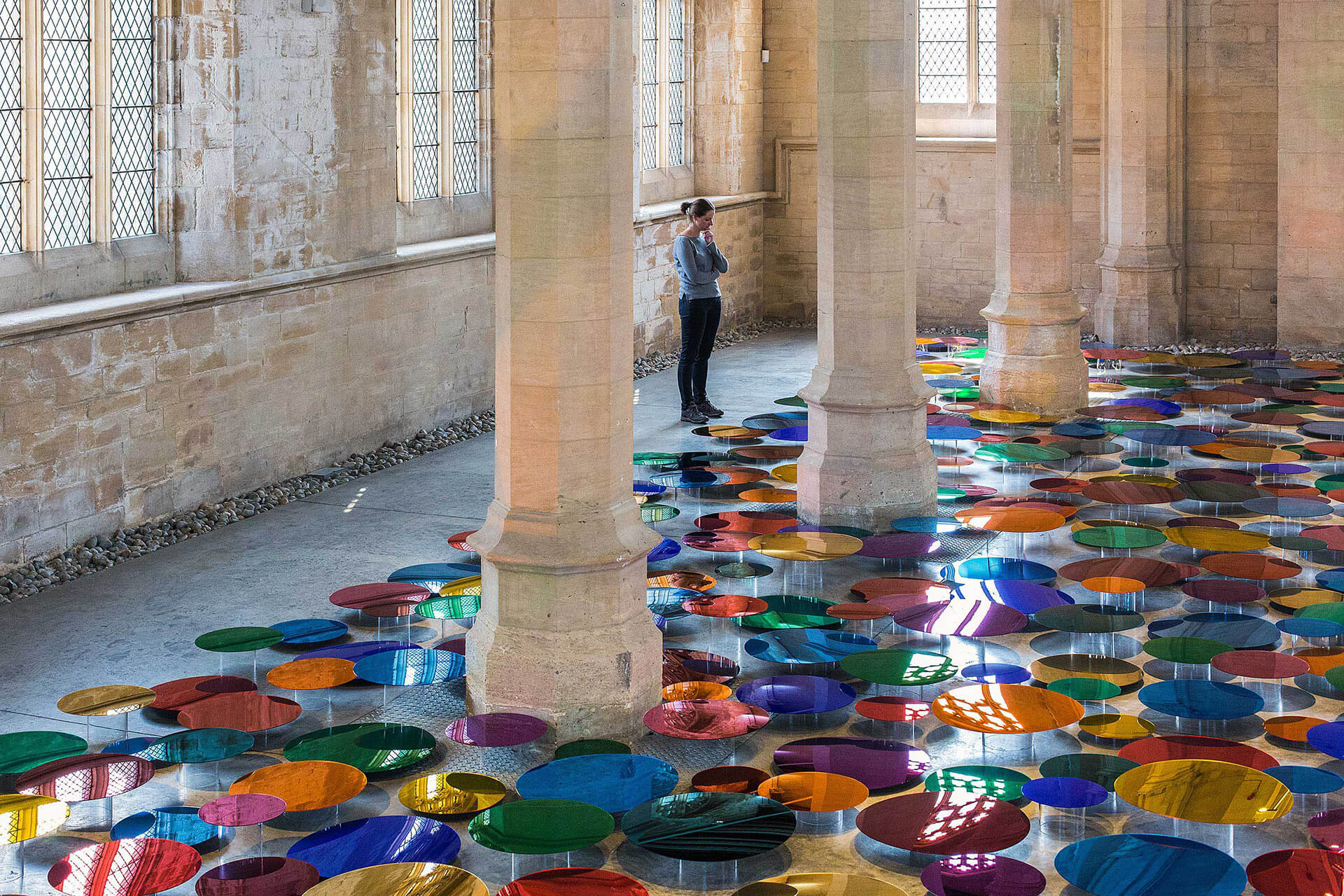 Our Colour Reflection at Visual Arts Centre in Scunthorpe, UK | Liz West | STIRworld