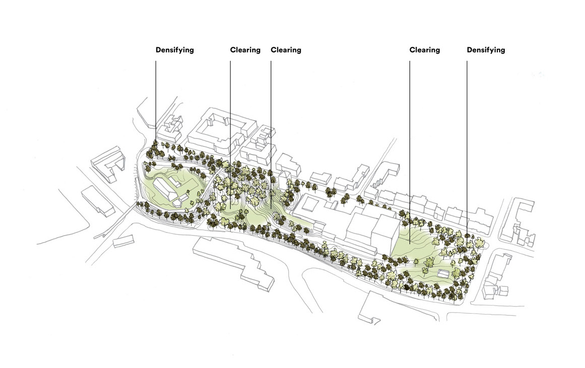 Esbjerg Bypark – diagram of site plantings| Henning Larsen| STIR