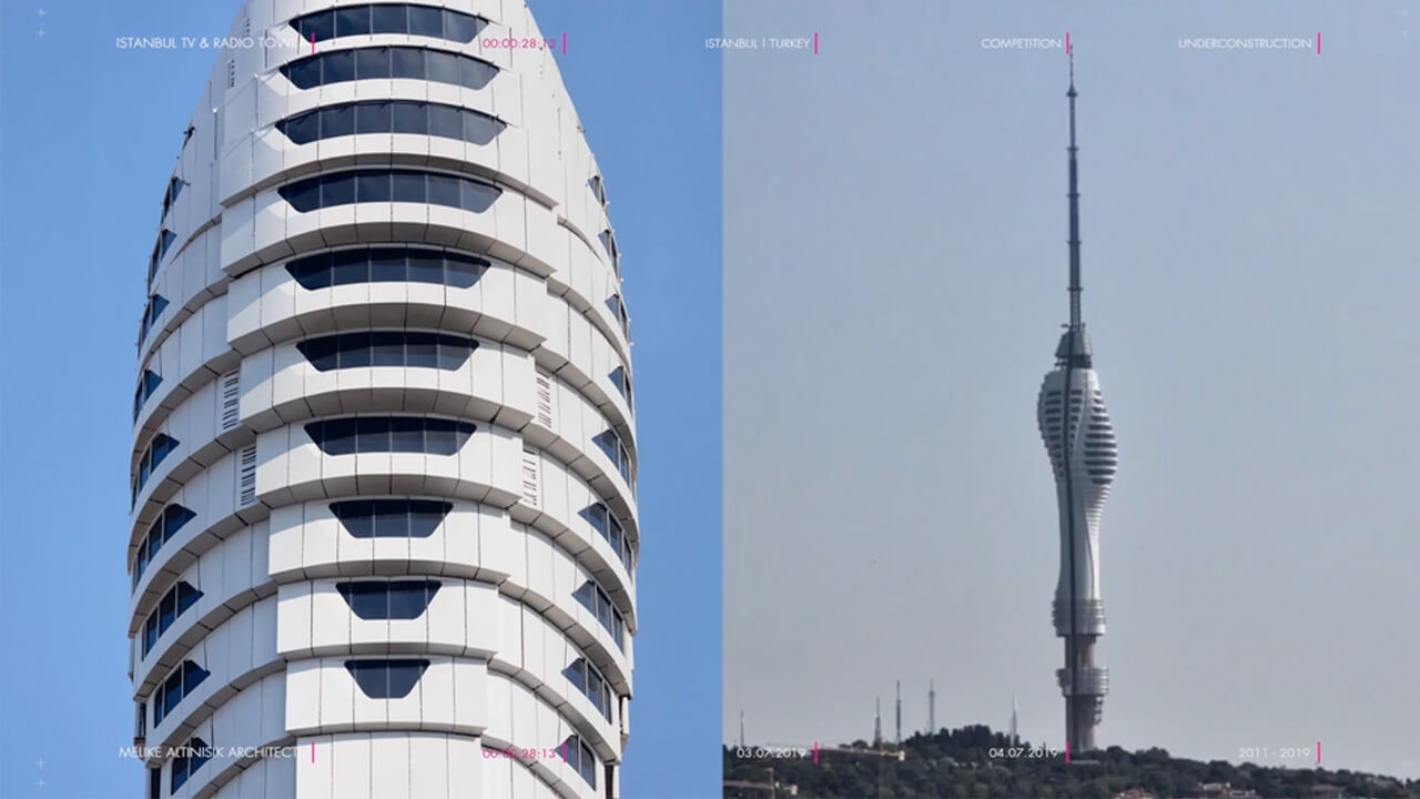 Time-lapse of the tower's construction | Istanbul Camlica TV and Radio Tower by Melike Altinisik Architects | STIRworld
