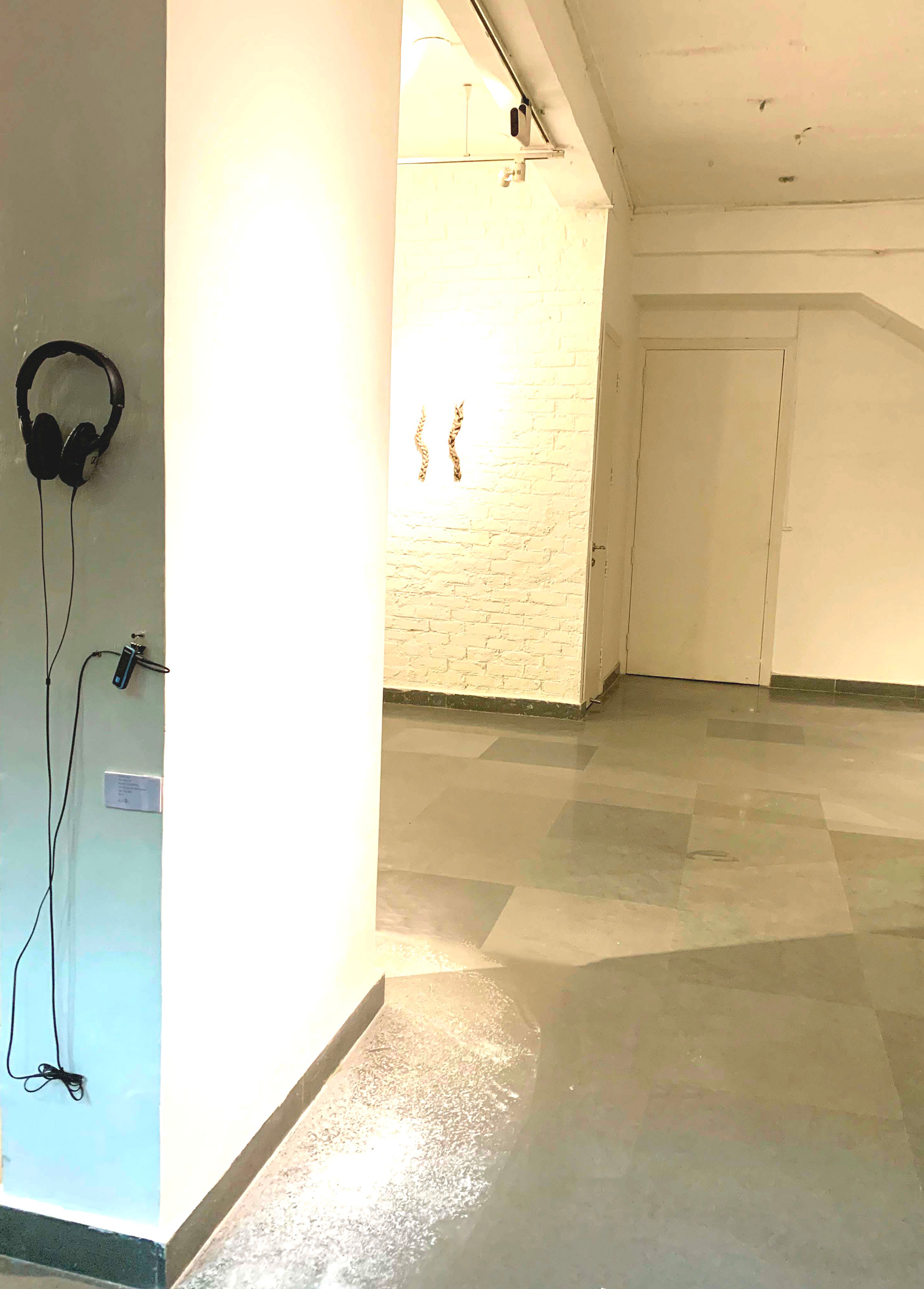 Achia Anzi, Sound Installation, with onsite architectural intervention| Skin| Threshold Art Gallery| Georgina Maddox| STIR