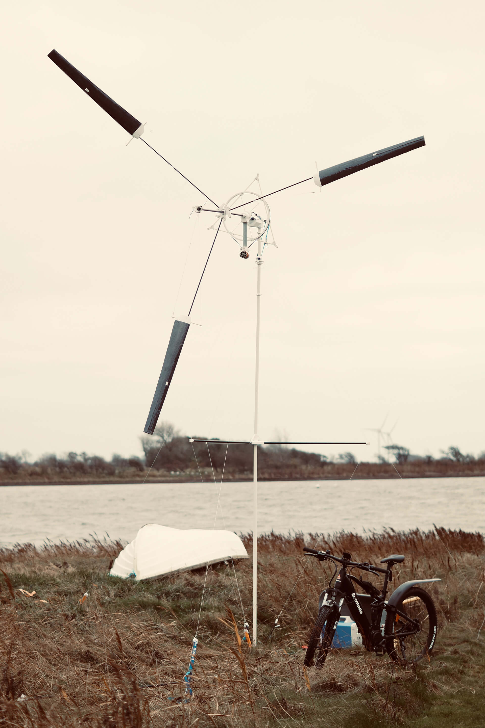 Wind Catcher - a portable turbine that rises to a height of six metre | KiteX | Denmark | STIRworld