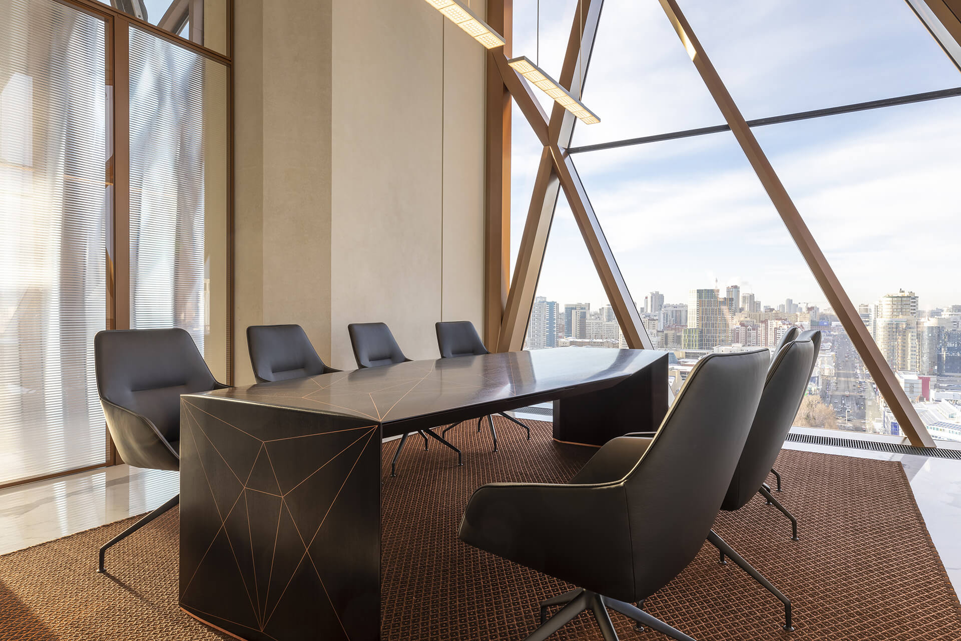 Owner's meeting room | RCC Headquarters by Foster + Partners | STIRworld