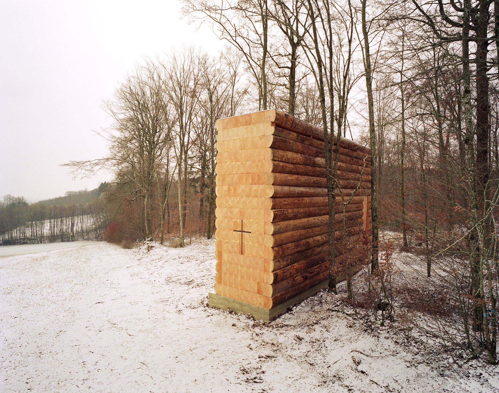 An exterior view of the chapel | Wooden Chapel | John Pawson | STIR