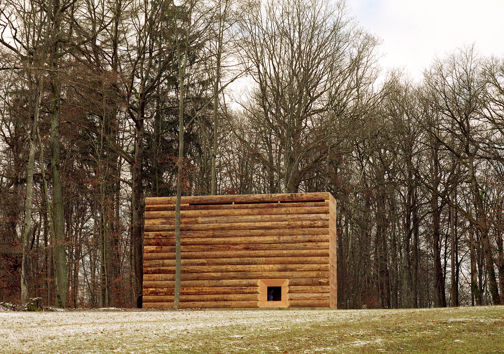 The chapel is located on the outskirts of Unterliezheim in Germany | Wooden Chapel | John Pawson | STIR