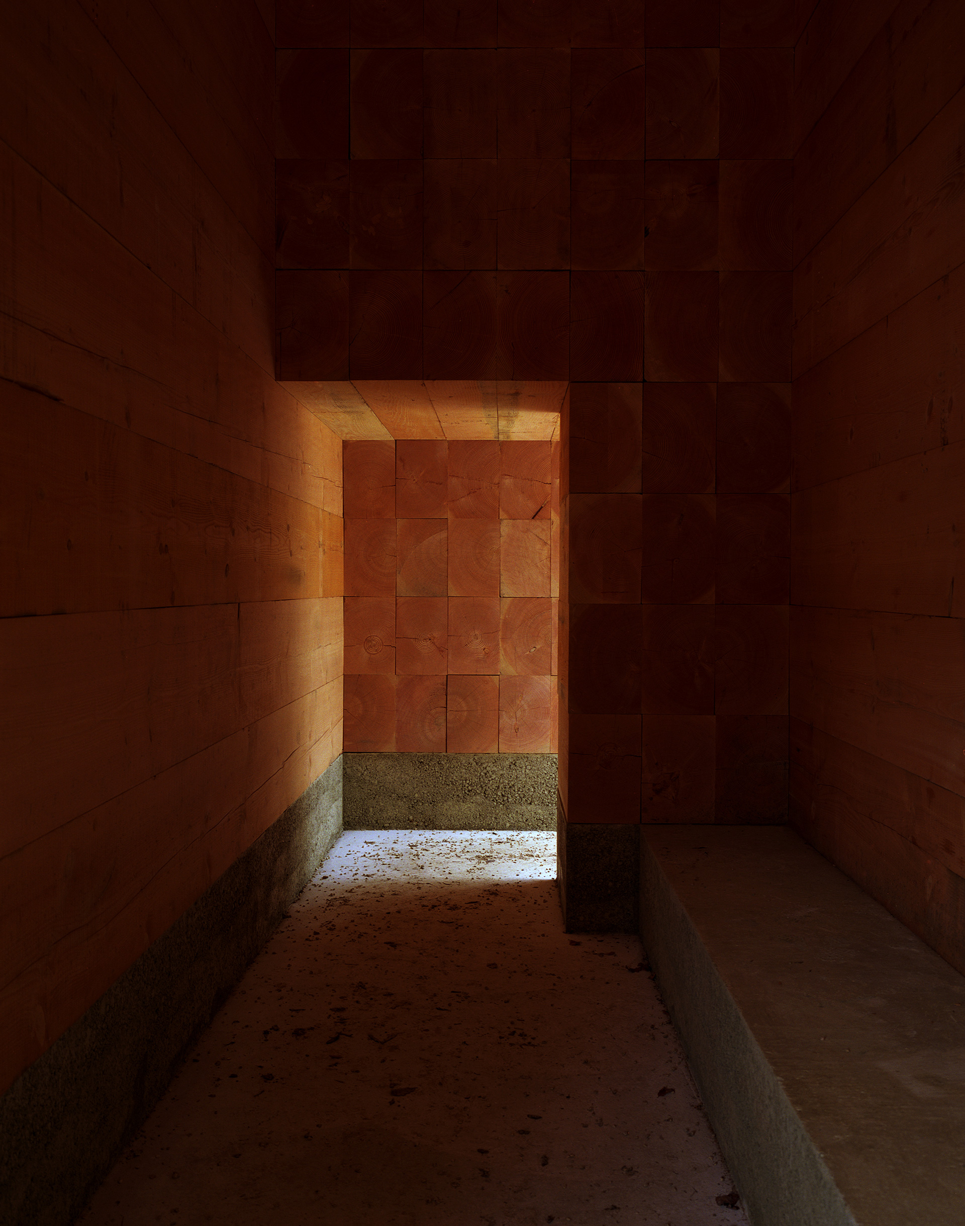 Interior of the chapel | Wooden Chapel | John Pawson | STIR