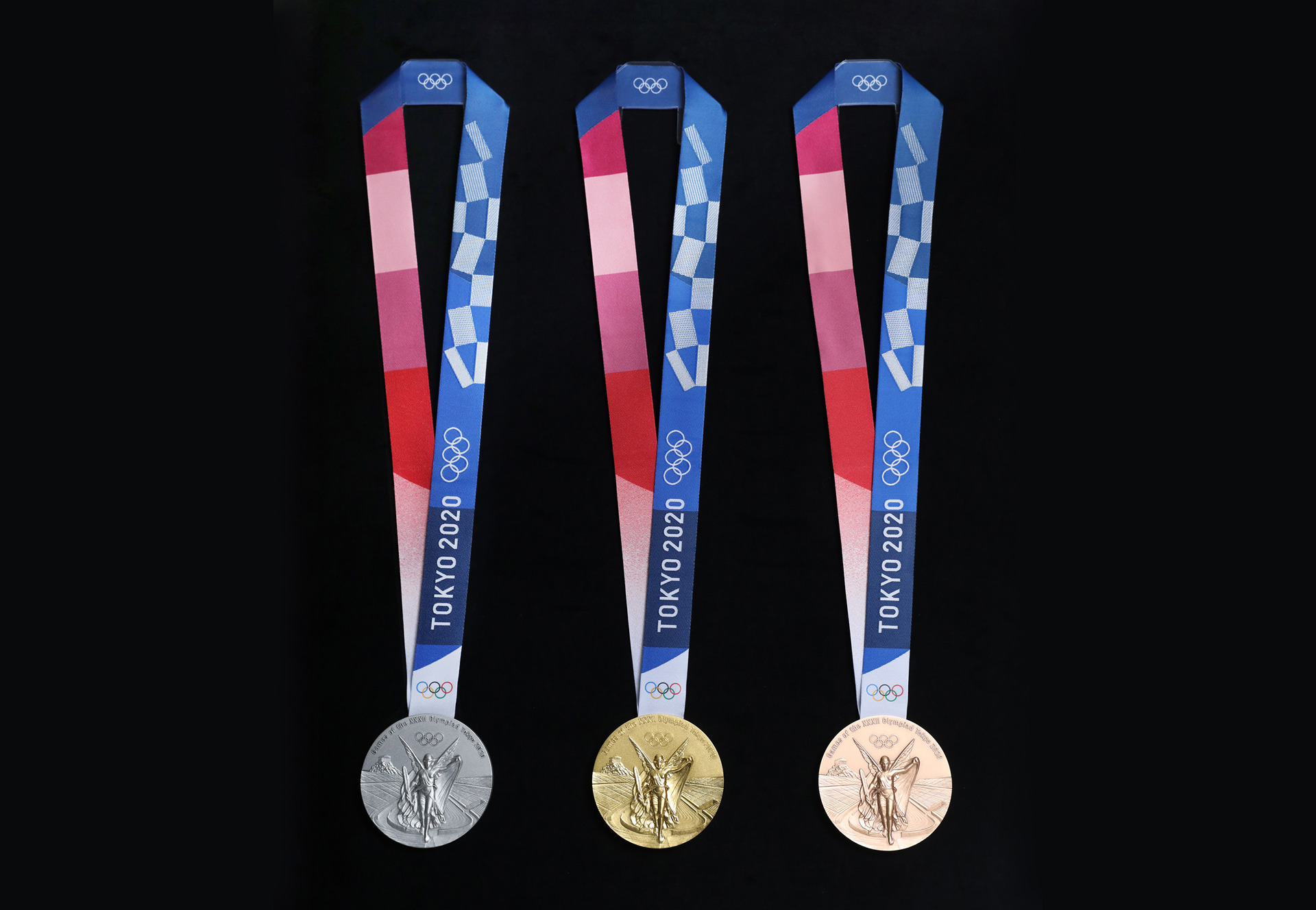 Tokyo 2020 Olympic medals (obverse)| Olympic Games| Tokyo 2020 | STIR
