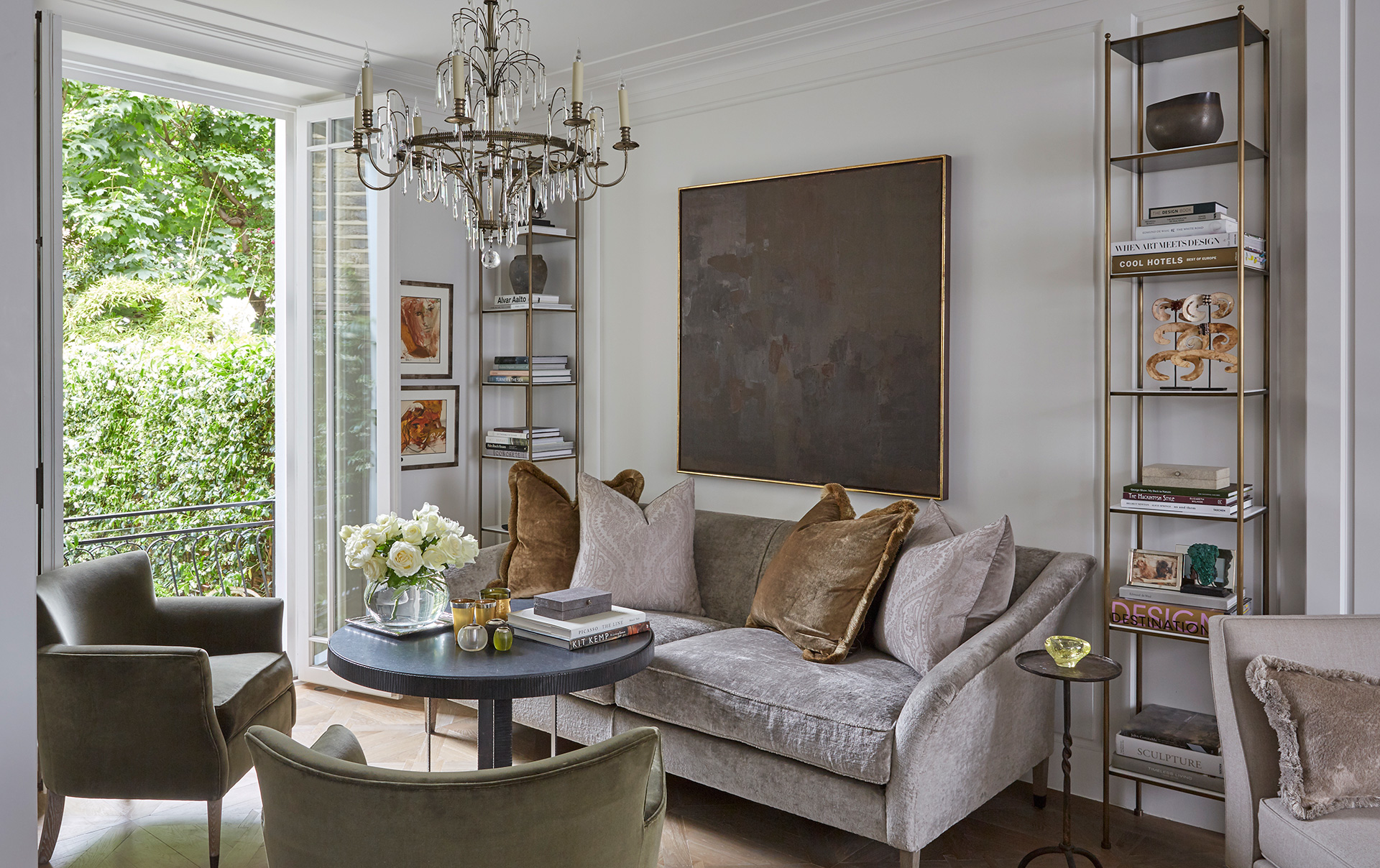 As elegant as the spaces look, comfort has played a lovely role in the coming together of them| Louise Bradley| London| STIR