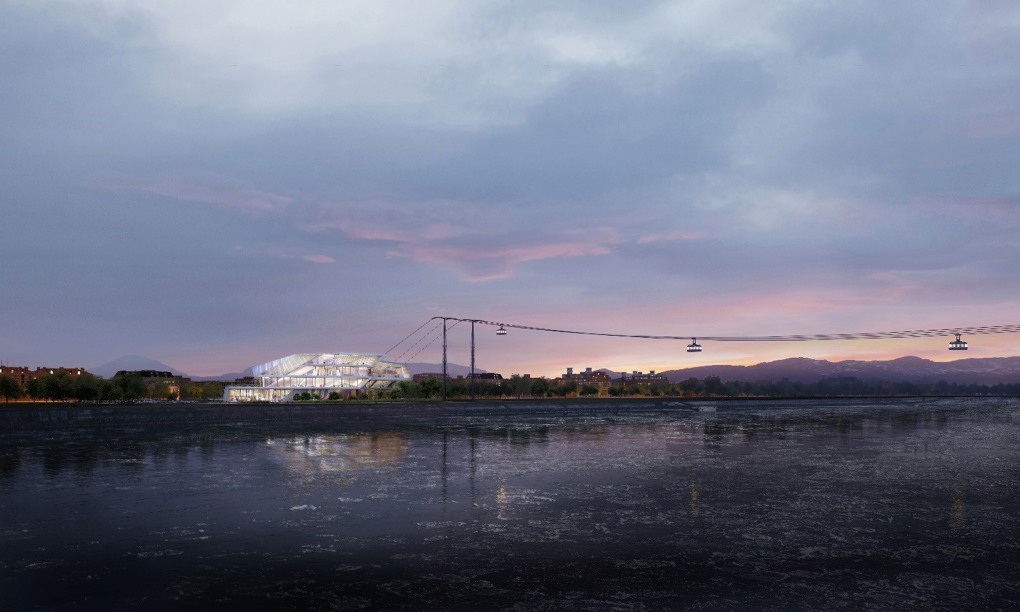 Blagoveshchensk cable car design| Sustainable Mobility Report | UNStudio | STIR