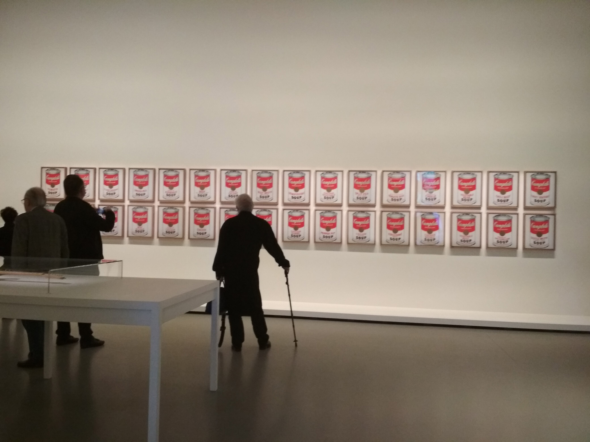 Campbell's Soup Cans, Andy Warhol, 1962, edition, Museum of Modern Art| Museum of Modern Art| STIR