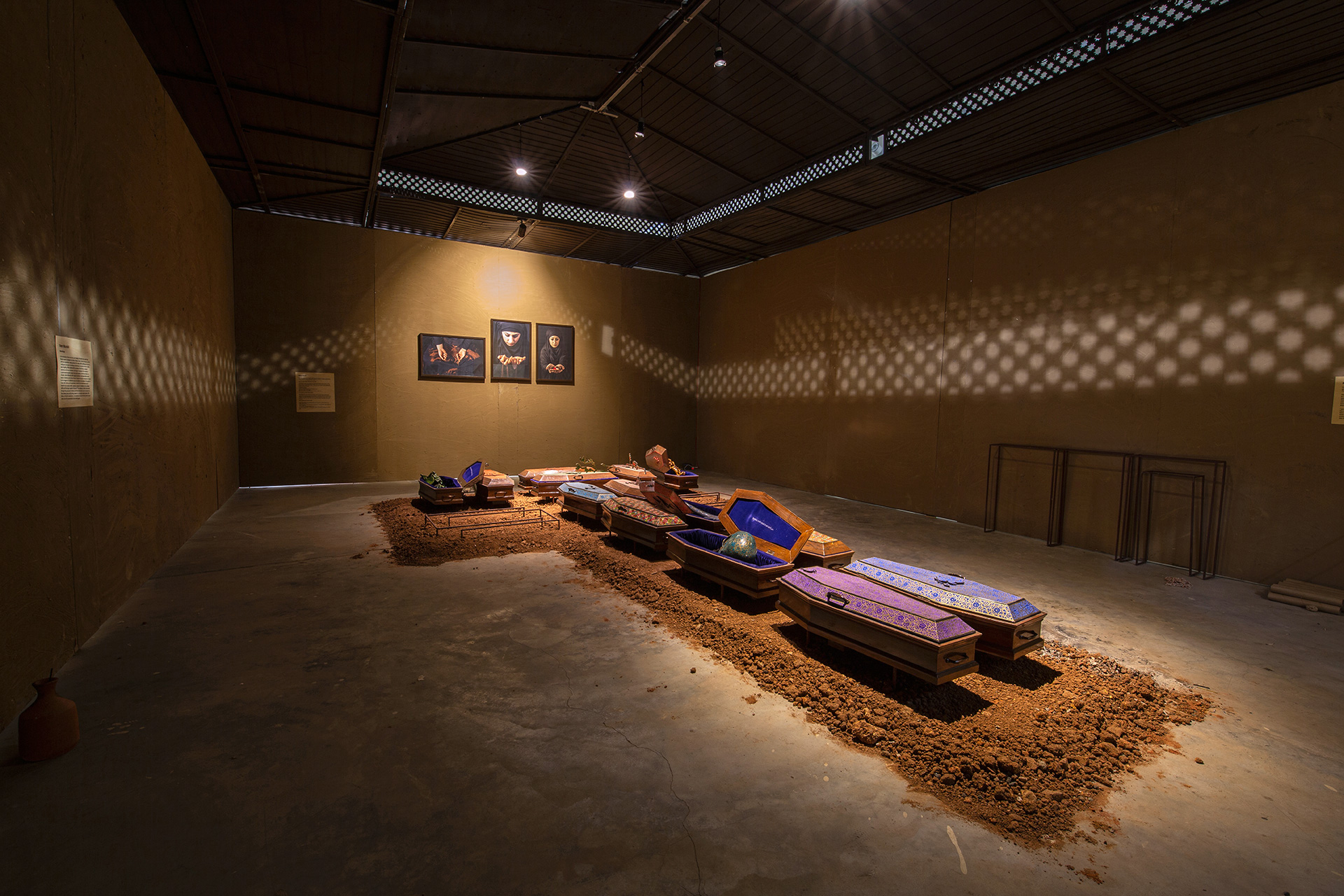 Relics from Lost Paradise, Veer Munshi, mixed media, 2017| Kochi Muziris Biennale| STIR