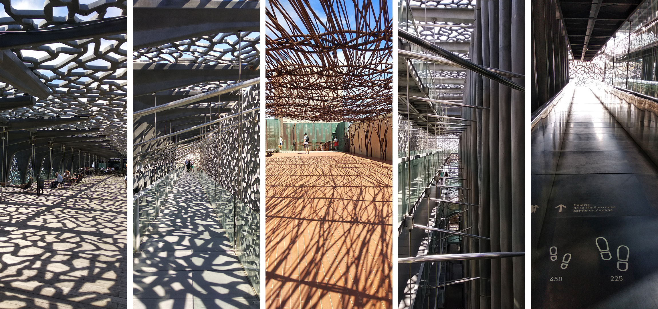 Light becomes the omnipresent artist rendering surfaces in numerous ways at each moment of any day especially in MuCEM (2019)| Marseille | France | STIR