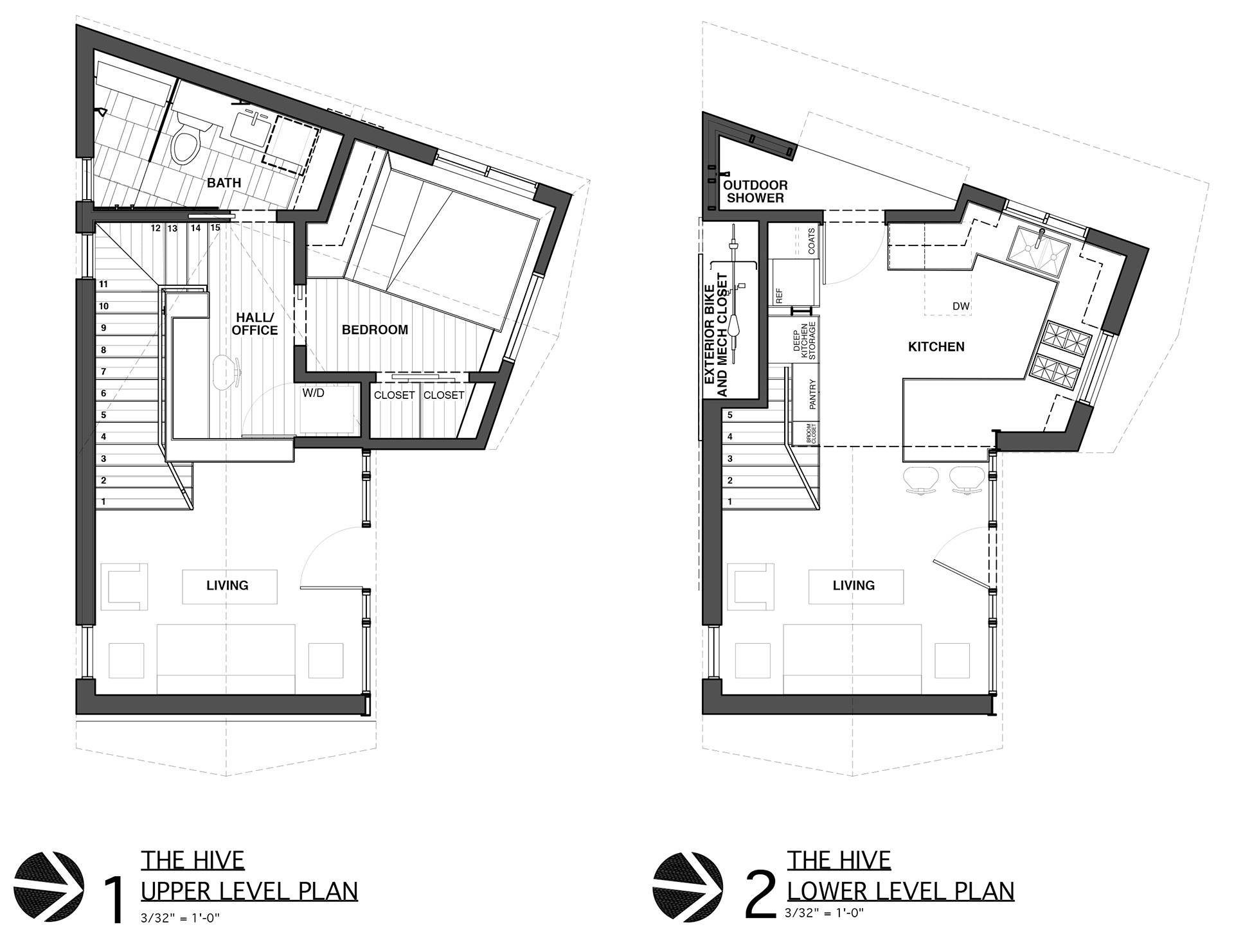 Layout plan of The Hive | The Hive| Nicole Blair| Studio 512 | STIR