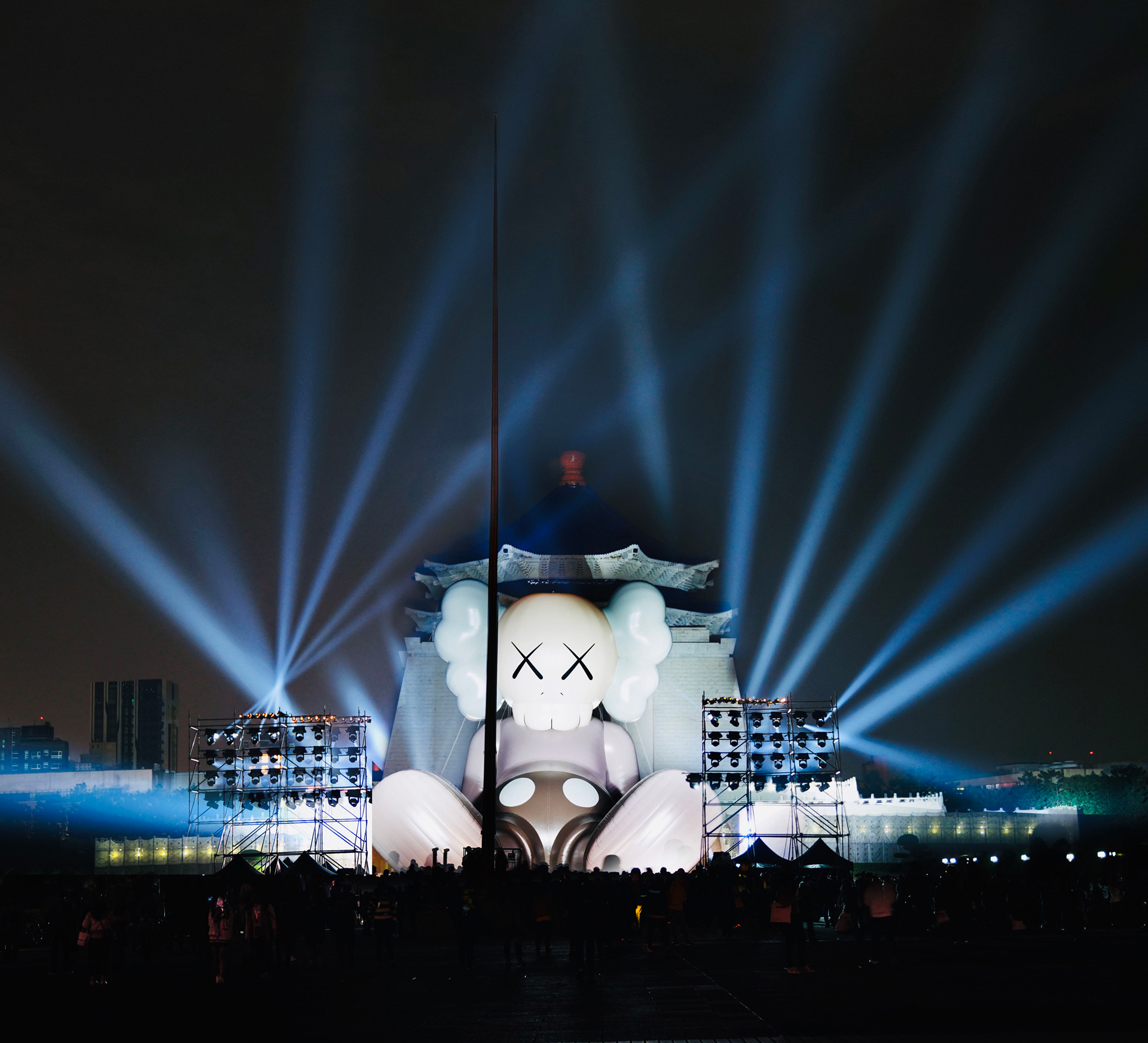 KAWS: Holiday, Taipei | KAWS| Chiang Kai-shek Memorial Hall| STIR
