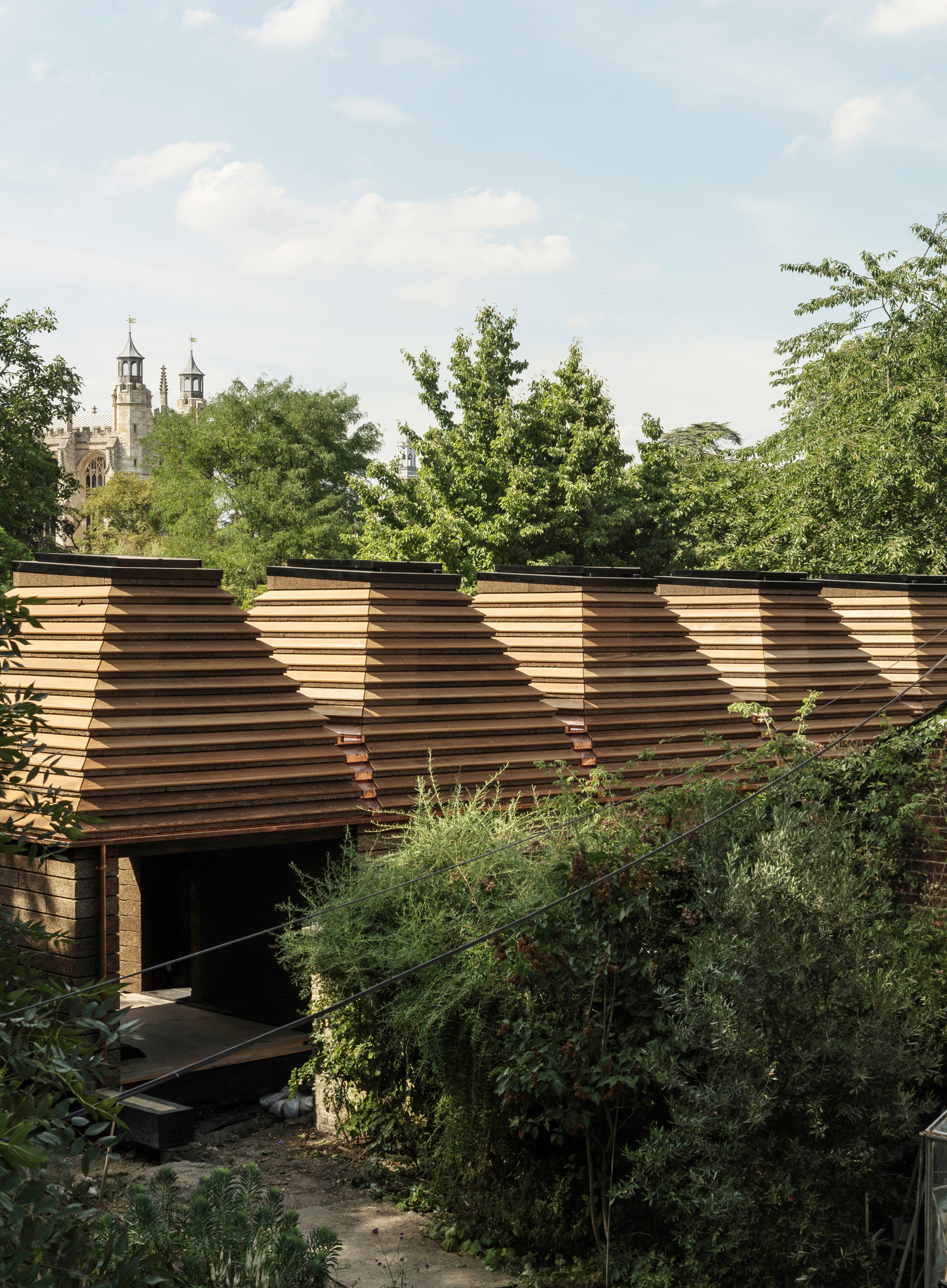 The Cork House is made almost entirely out of cork | Matthew Barnett Howland | Dido Milne| Oliver Wilton| The Cork House| RIBA Stirling Prize 2019| STIR