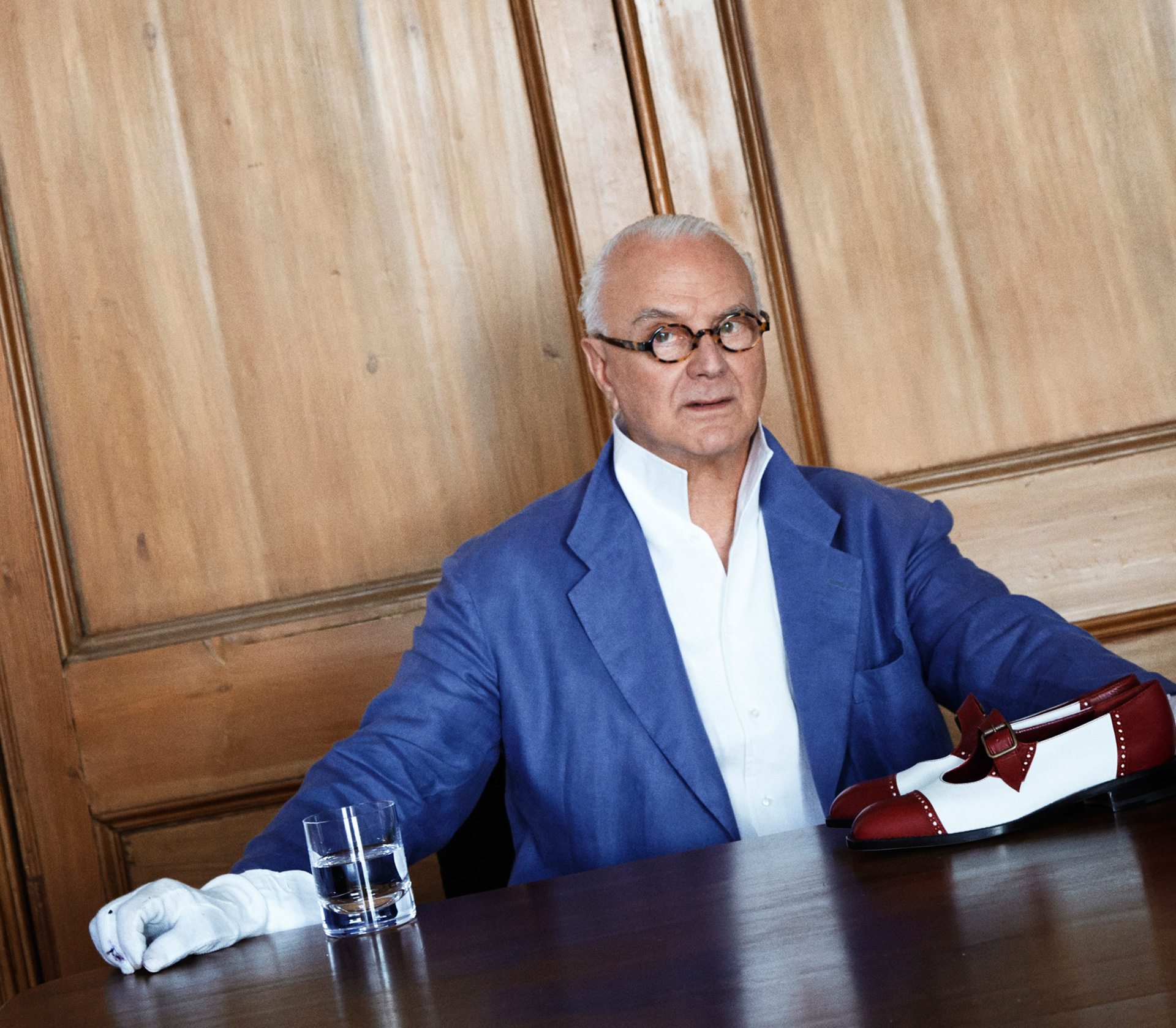 With a career spanning almost 50 years, Manolo Blahnik is one of the world's most influential footwear designers| An Enquiring Mind: Manolo Blahnik| The Wallace Collection| STIR