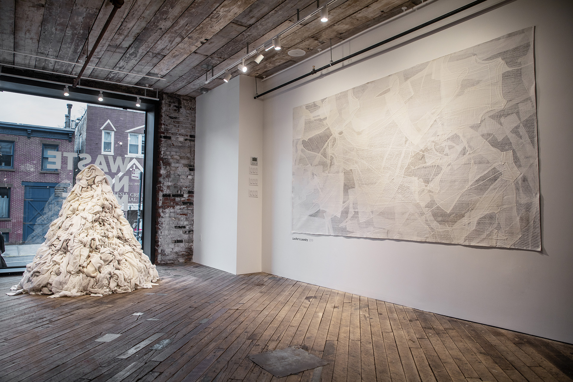 Eileen Fisher in Brooklyn, New York |Waste No More | Eileen Fisher| Galleria Rosanna Orlandi | Milan Design Week 2019 | STIR