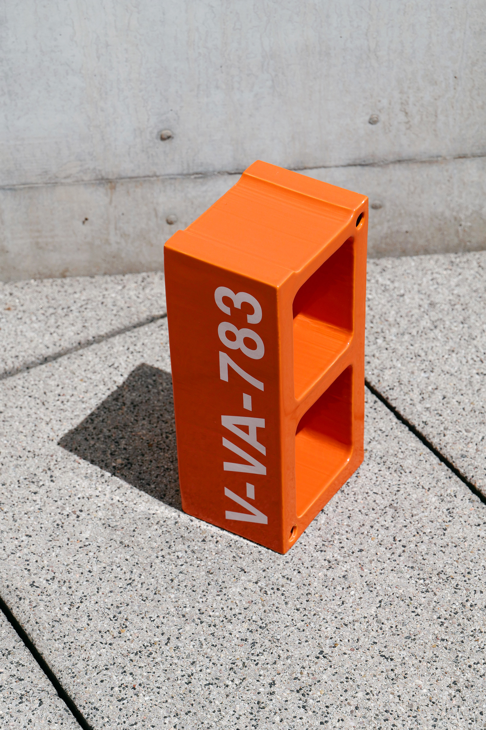 Each ceramic block created by Virgil Abloh comes with its own identifying number | TWENTYTHIRTYFIVE| Virgil Abloh| Vitra| STIR