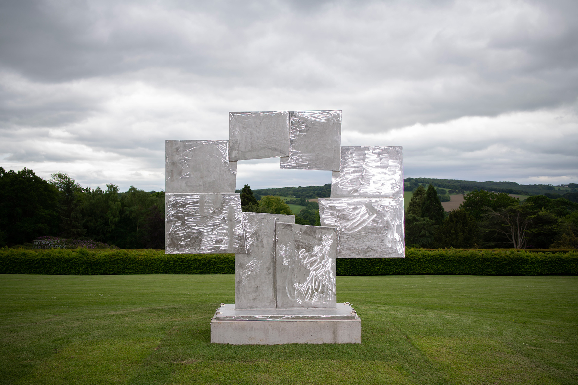 David Smith, Untitled (Candida), 1965. Copyright 2019 The Estate of David Smith, Licensed by VAGA at Artists Rights Society (ARS), NY. Courtesy YSP | Yorkshire Sculpture International| STIR