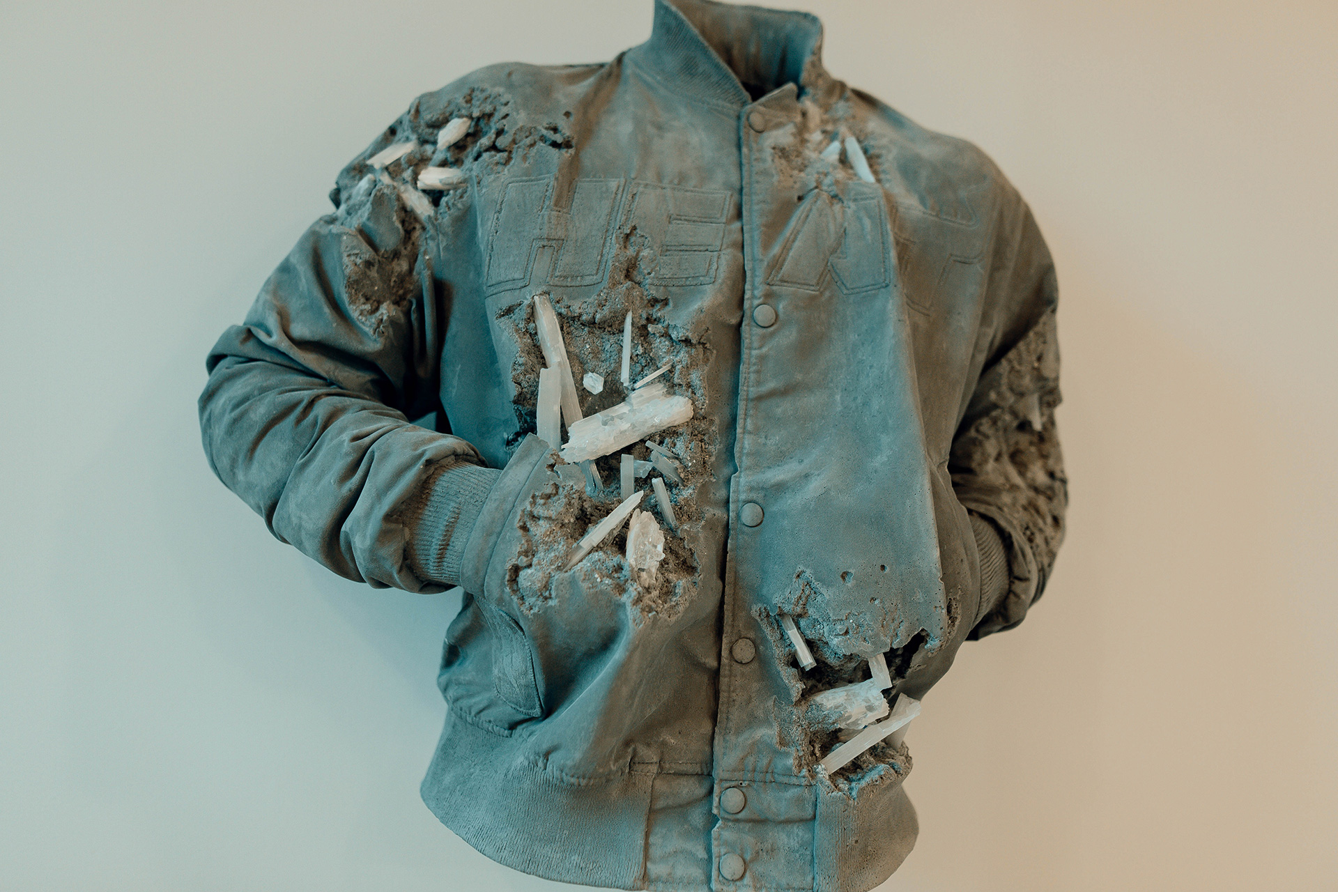 Daniel Arsham, Miami Heat Jacket, Connecting Time, MOCO Museum | Connecting Time | Daniel Arsham | STIR