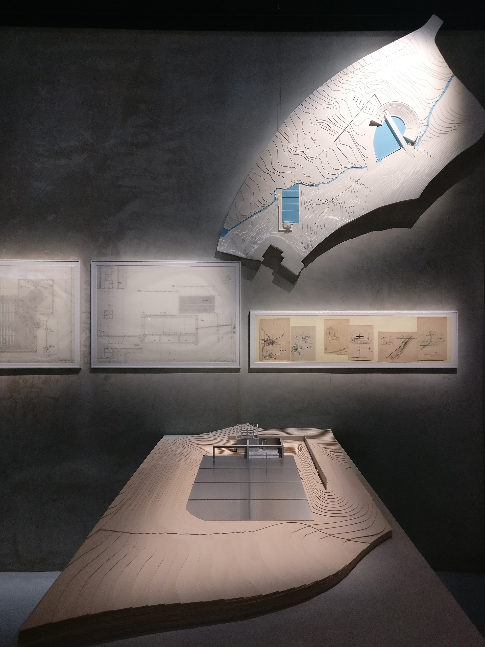 Drawings, sketches and model of the Chapel on the water aka Water church in Hokkaido Shimukappu Village, Japan| The Challenge| Tadao Ando| Armani/Silos| STIR