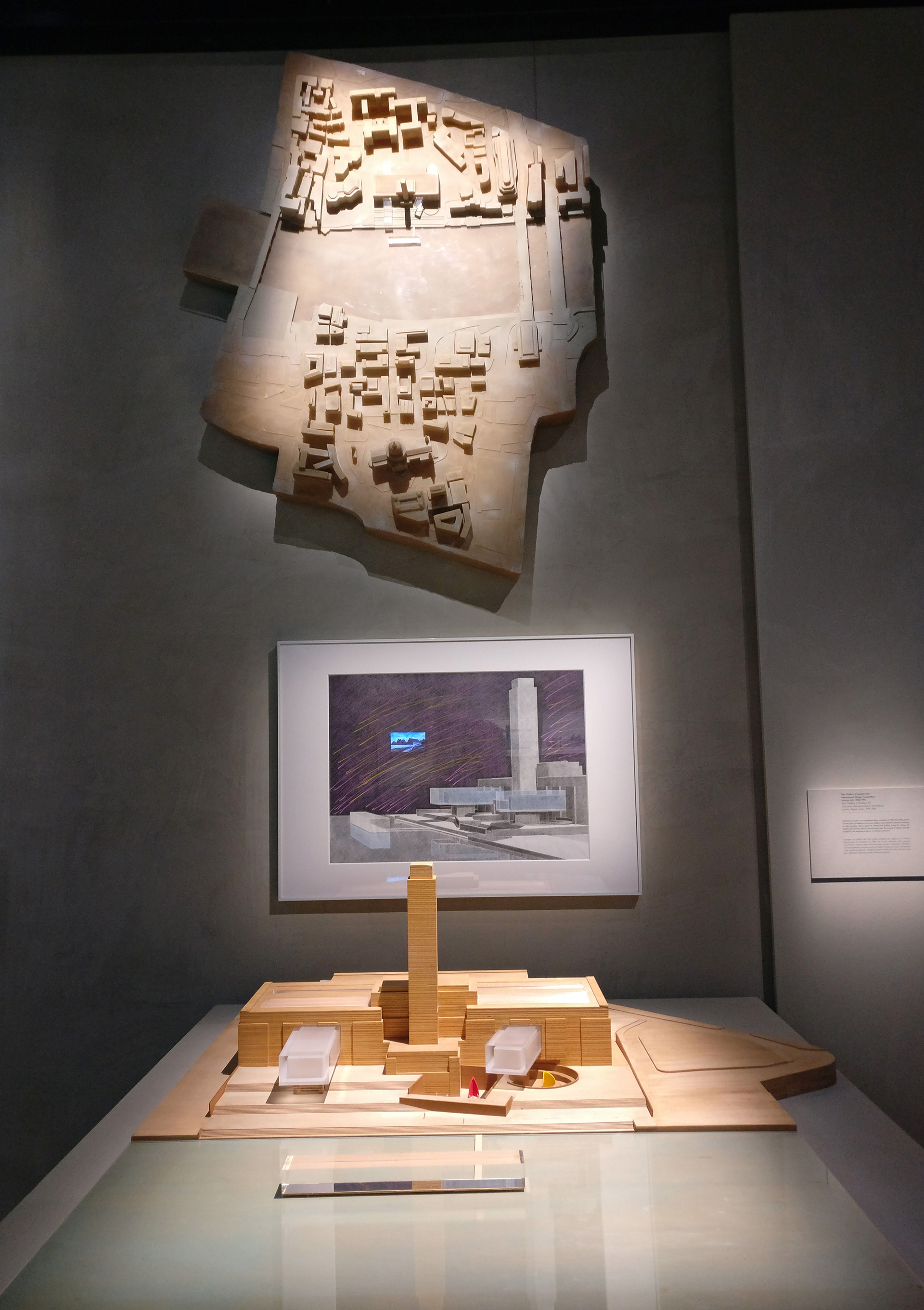 Photographs, drawings, sketches and model at The Challenge | The Challenge| Tadao Ando| Armani/Silos| STIR