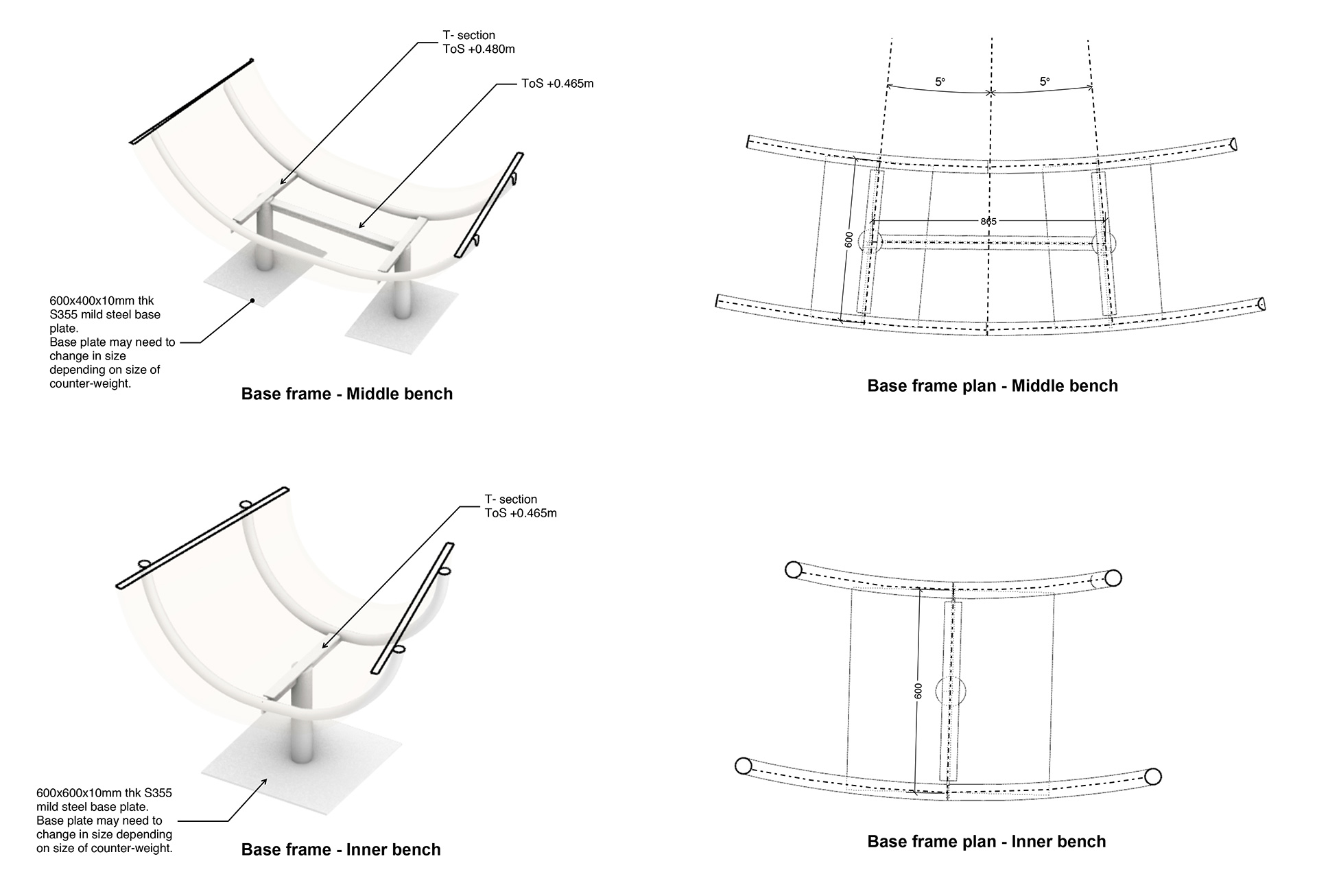 Base Frame – middle and inner bench | Please Be Seated | Paul Cocksedge | London Design Festival 2019| STIR