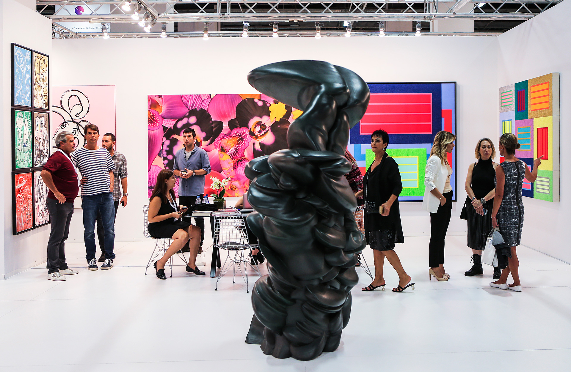 A typical booth at the Contemporary Istanbul | Contemporary Istanbul | STIR