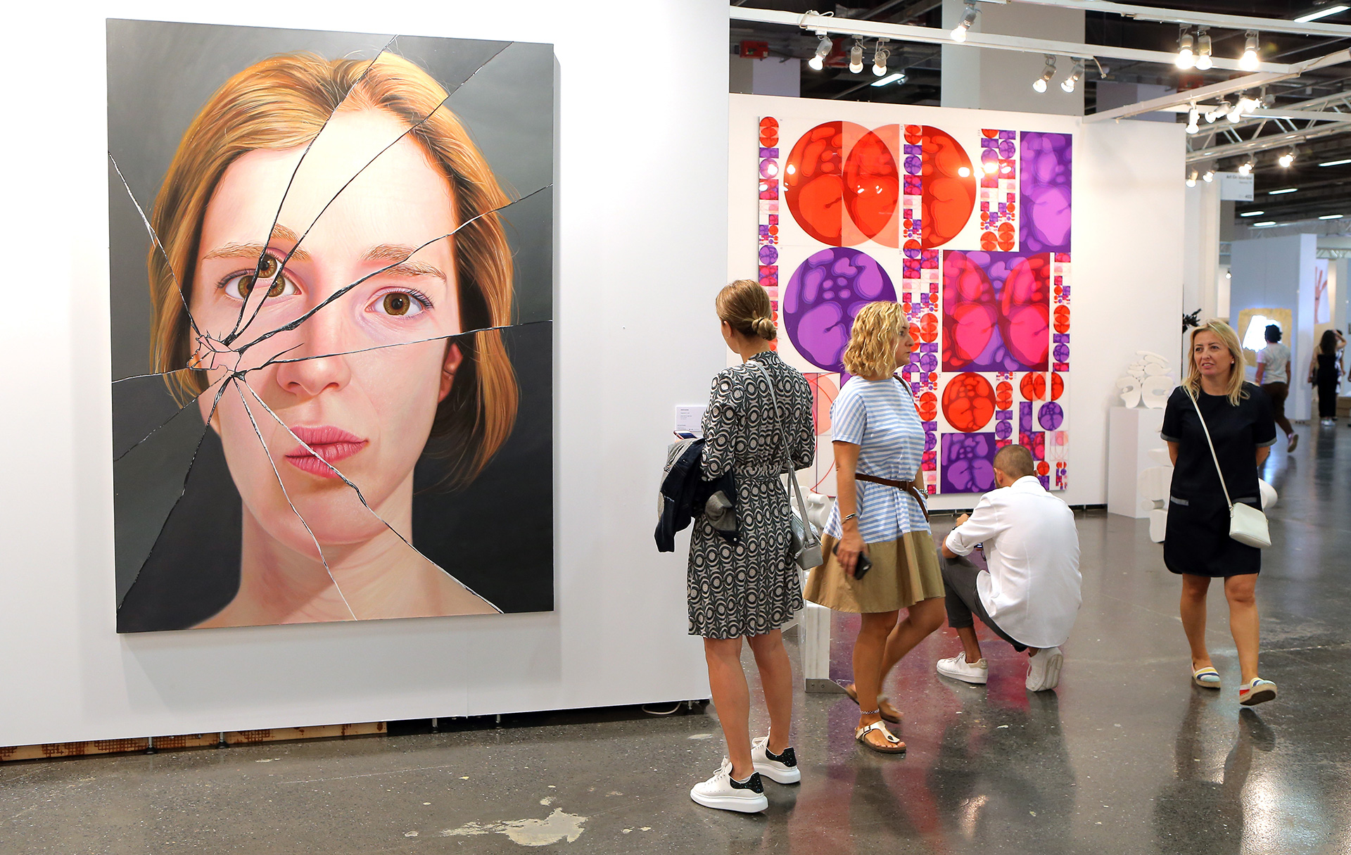 A painting reinvented at the Contemporary Istanbul art fair | Contemporary Istanbul | STIR