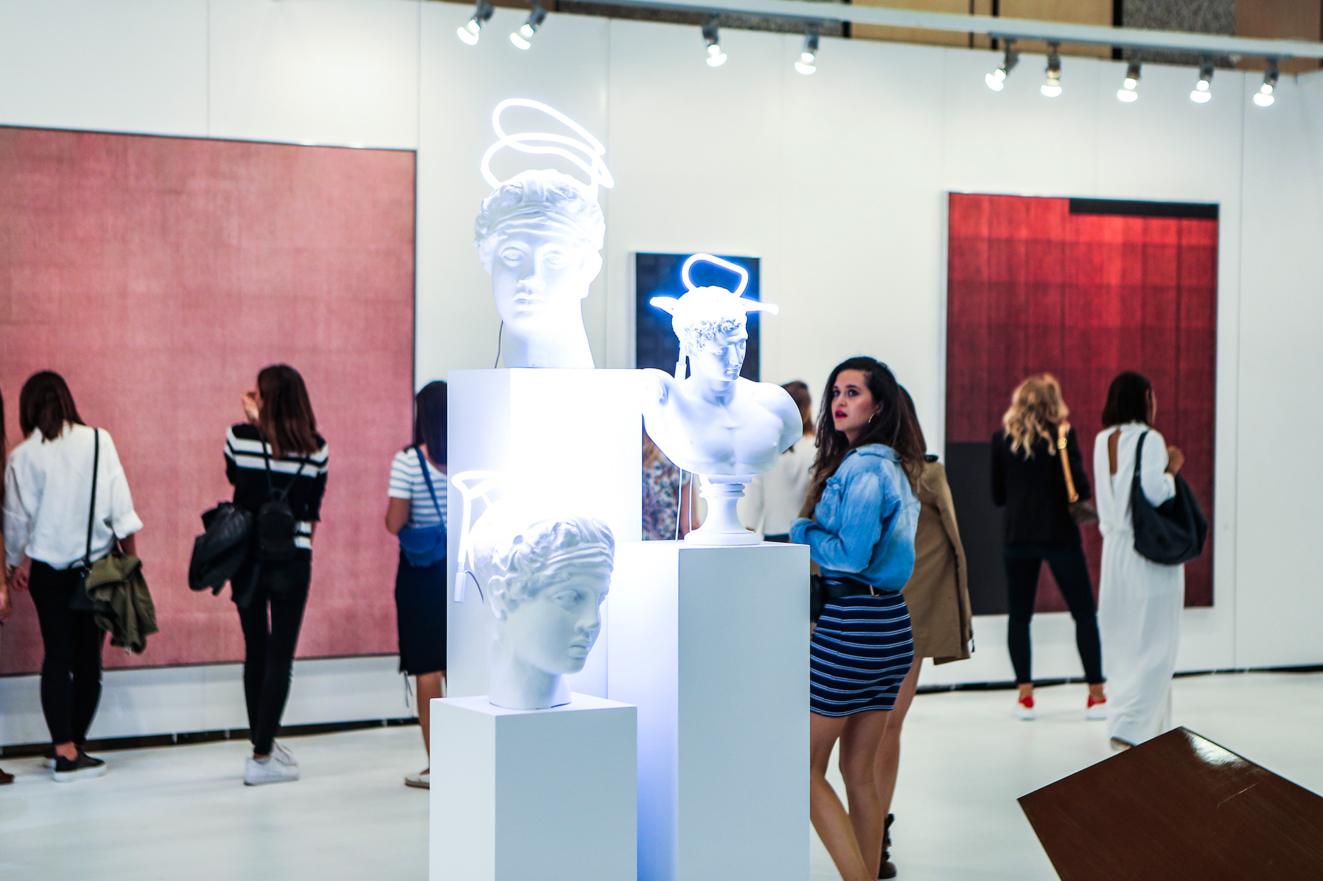 A traditional Greek sculpture given a contemporary twist at the Contemporary Istanbul art fair | Contemporary Istanbul | STIR