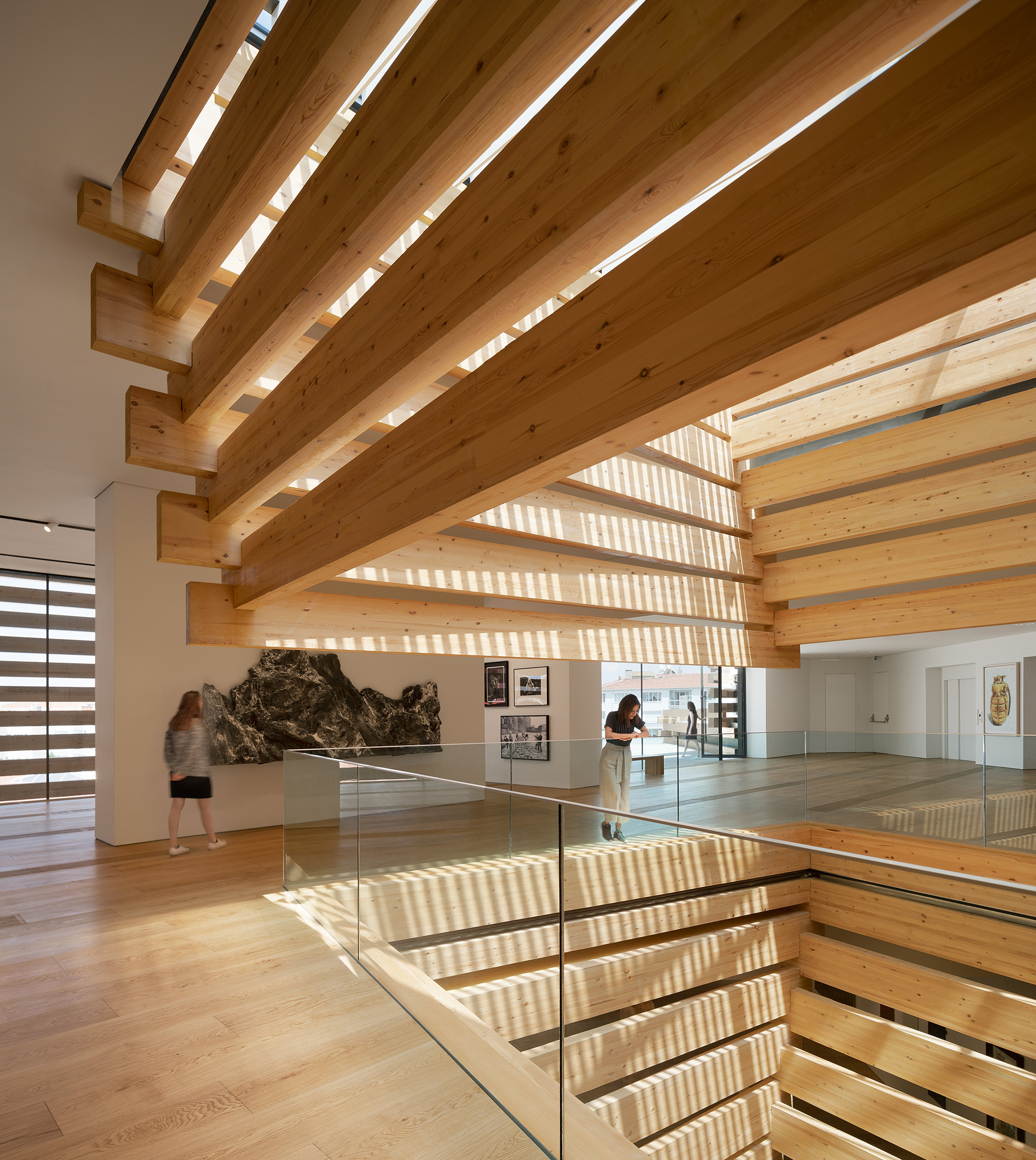 Odunpazari Modern Museum – exhibition space | Odunpazari Modern Museum| Kengo Kuma and Associates | STIR