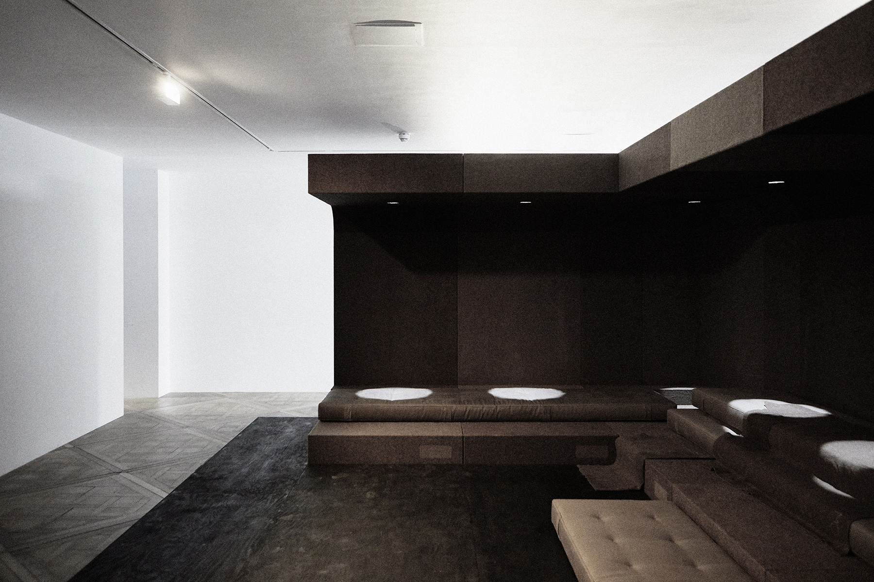 Installation view, Rick Owens, Glade, 2019 | London Design Festival 2019 | STIR