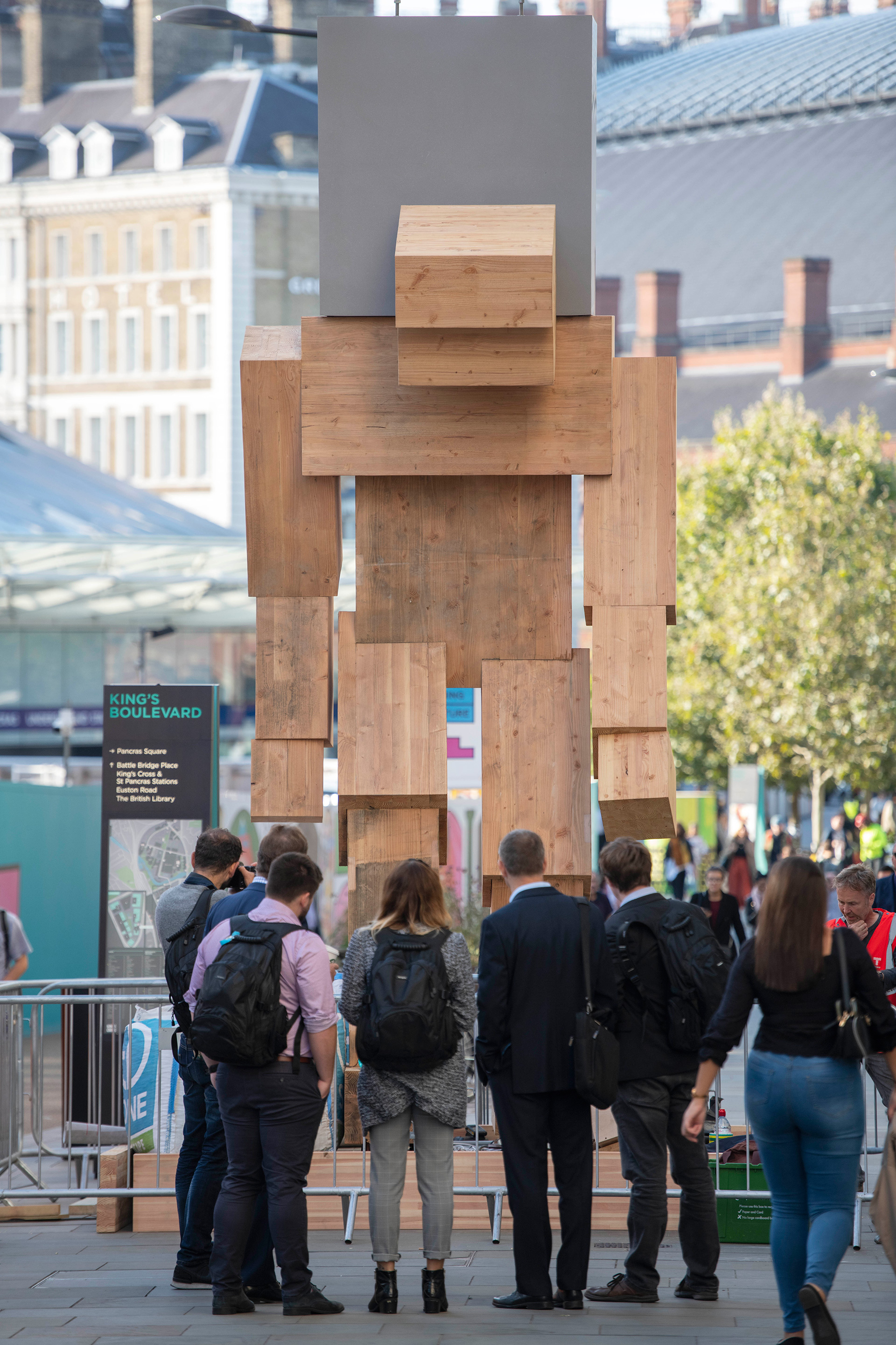 Talk to Me, by Steuart Padwick| London Design Festival 2019 | STIR