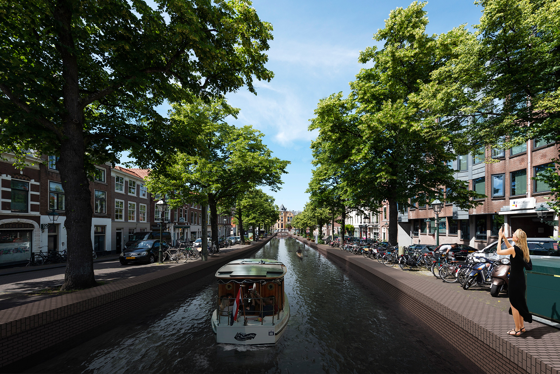 Brouwersgracht - Proposed | MVRDV| Hague Canals| STIR