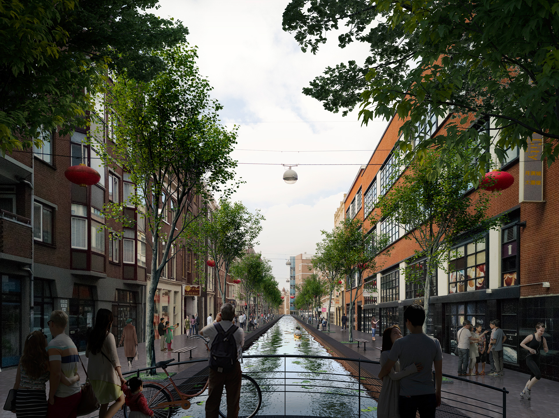 Gedemptegracht - Proposed | MVRDV| Hague Canals| STIR