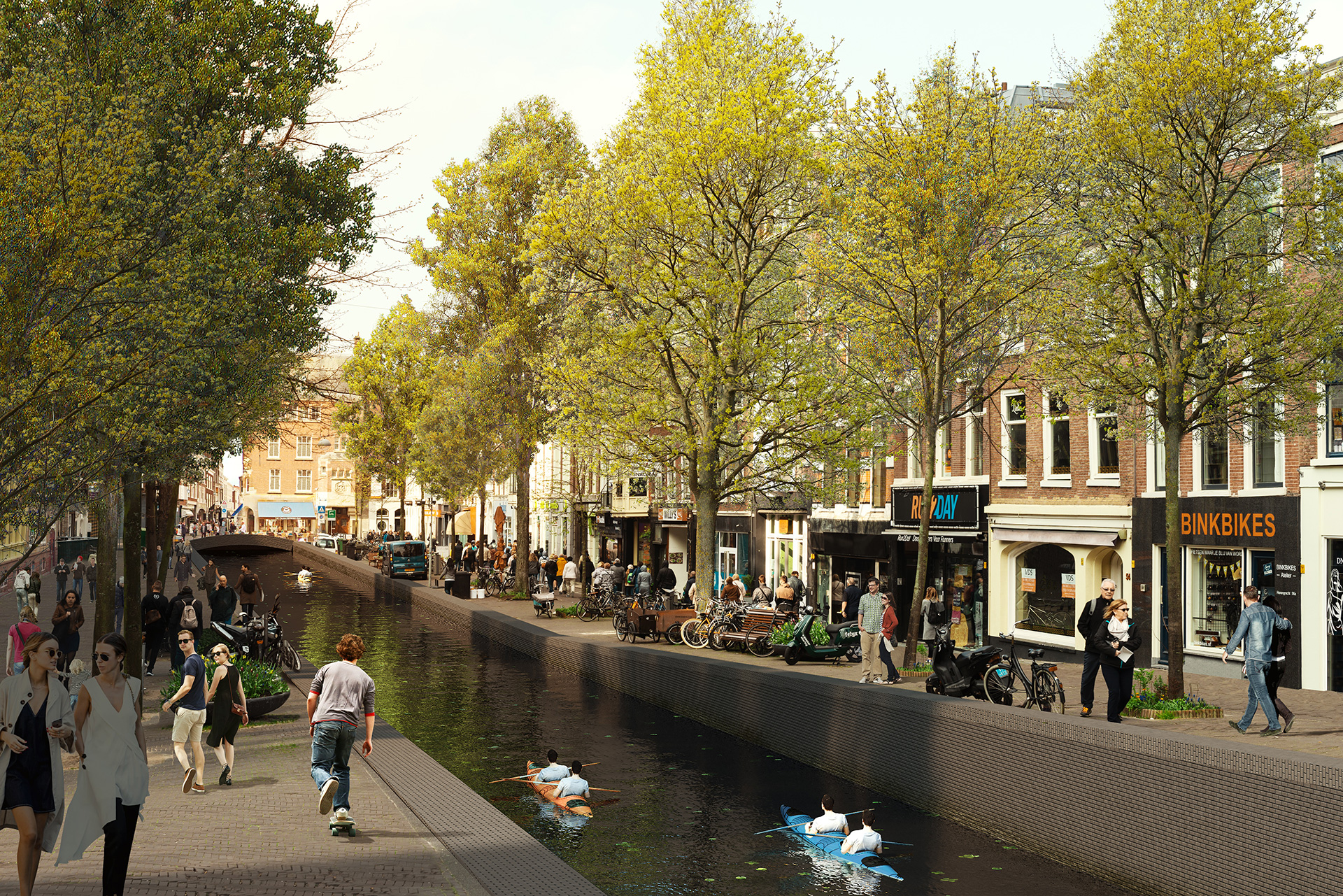 Herengracht - Proposed | MVRDV|  Hague Canals| STIR