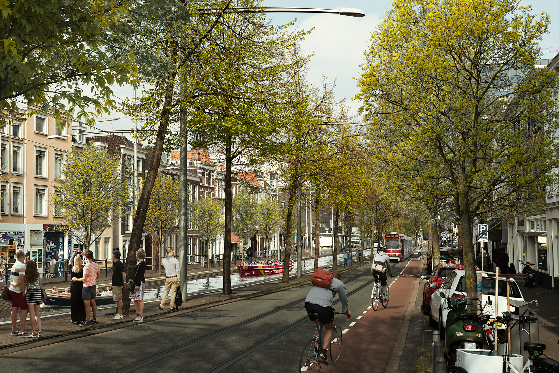 Spui – Proposed | MVRDV|  Hague Canals| STIR