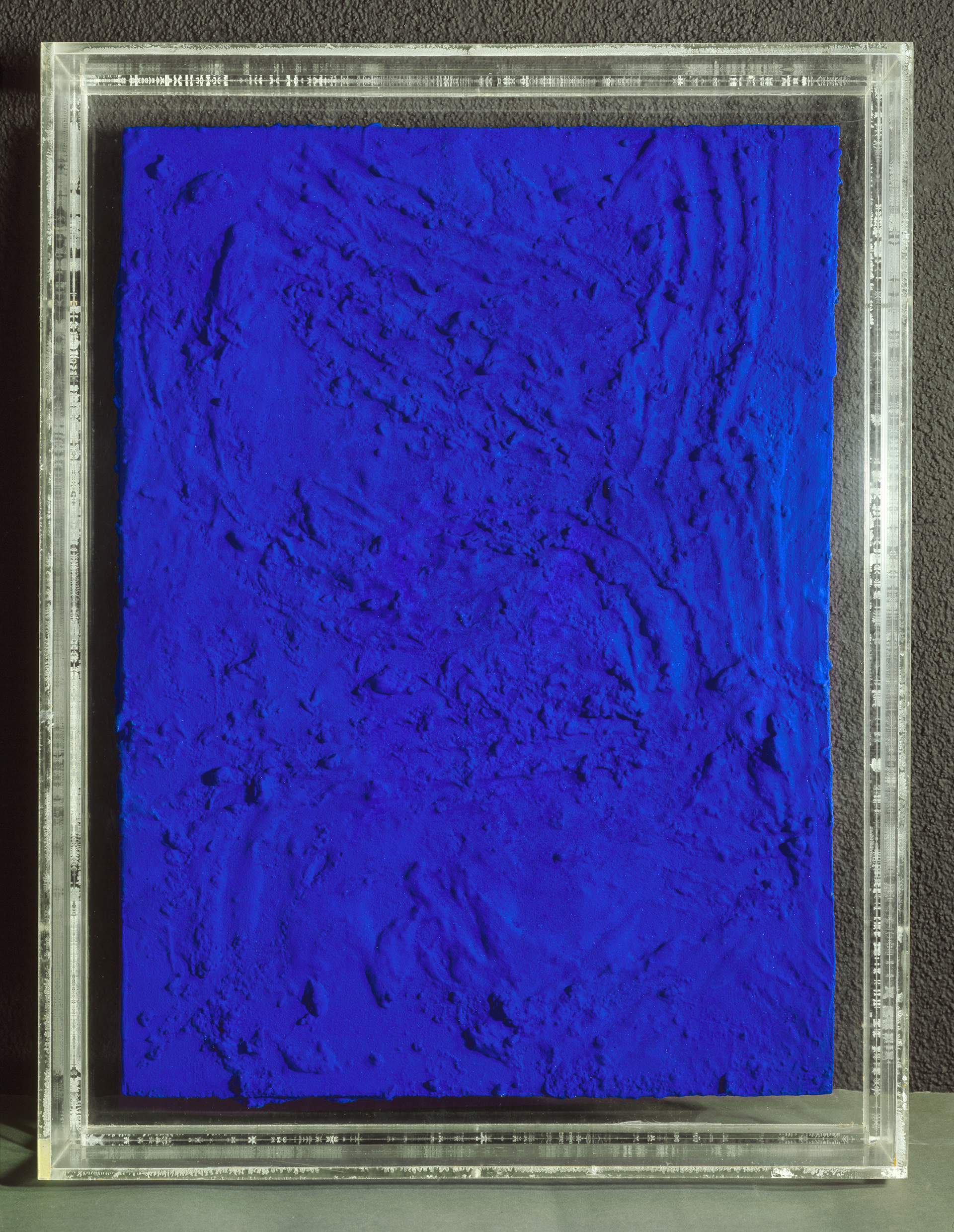 Yves Klein, Relief Planétaire RP8, 1961, Synthetic resin, painted, on wood, Kunsthaus Zürich, 1973 | Museum der Moderne Salzburg | STIR
