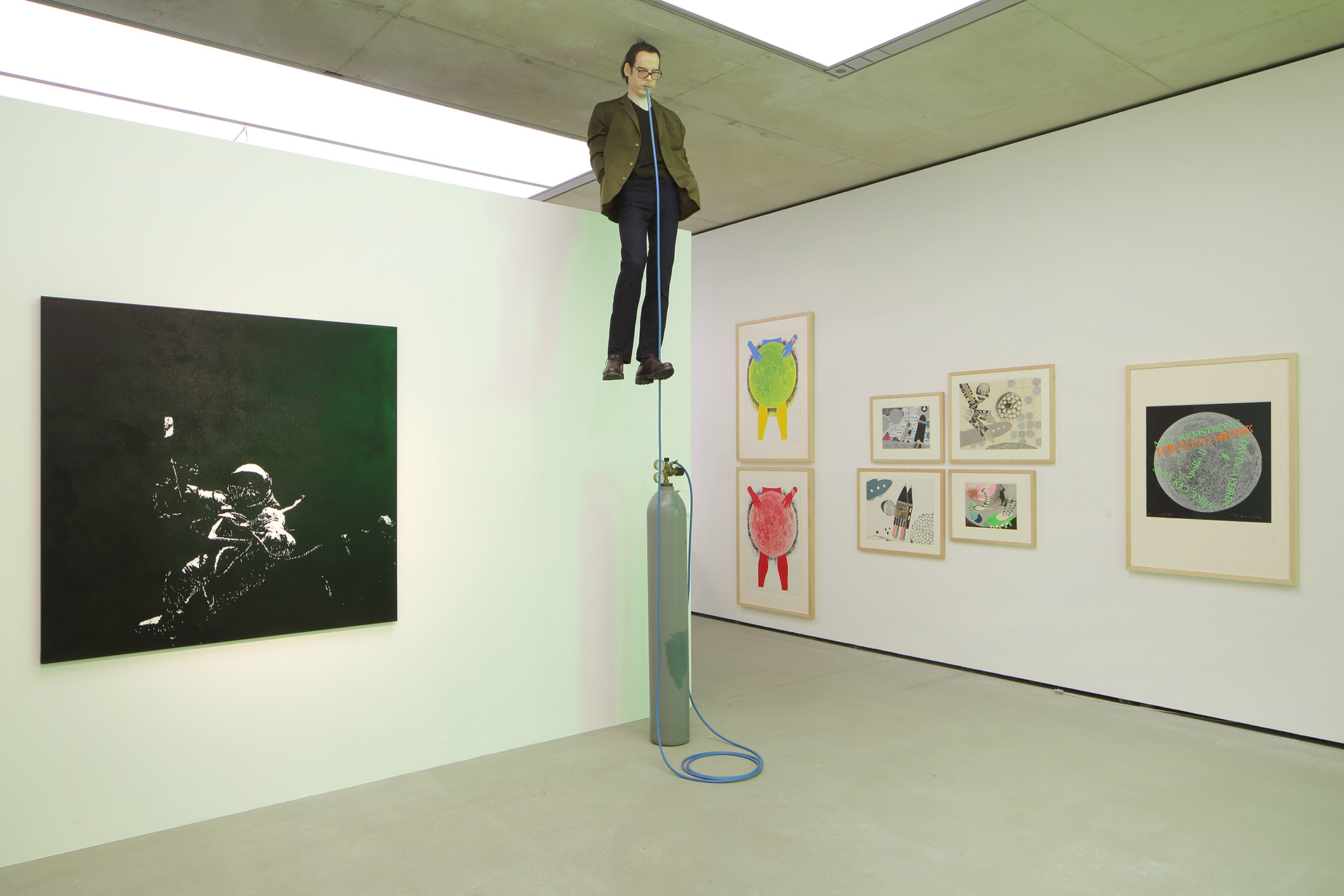 Fly Me to the Moon. The Lunar Landing, 50 Years Later</em>, exhibition view, © Museum der Moderne Salzburg | Museum der Moderne Salzburg | STIR